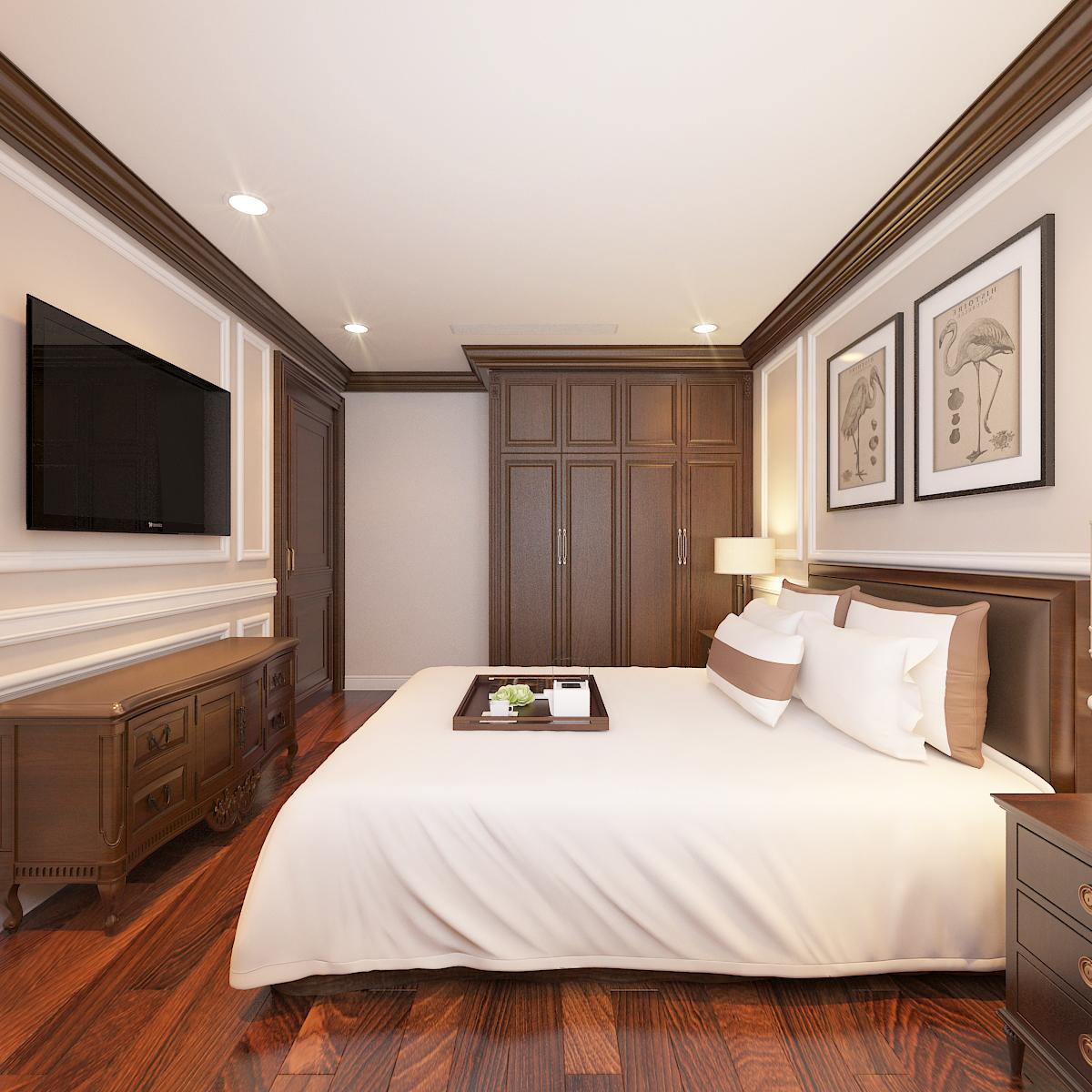 thiết kế nội thất Biệt Thự tại Hà Nội bt Vinhomes - riverside 53 1568276285