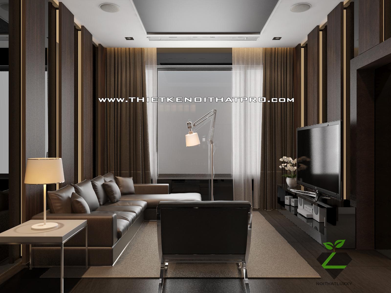 thiết kế nội thất Biệt Thự tại Hà Nội bt Vinhomes - riverside 57 1568085380