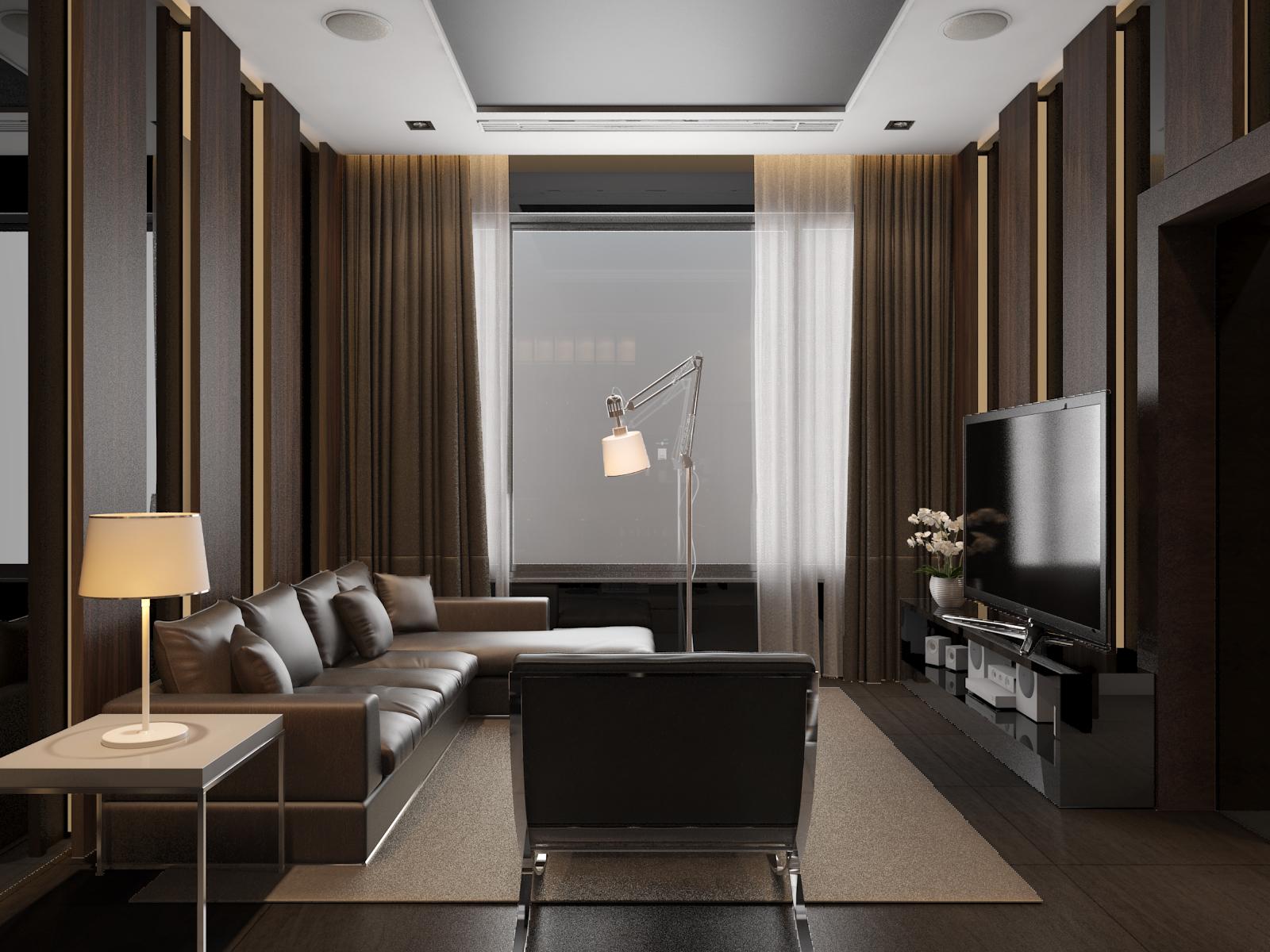 thiết kế nội thất Biệt Thự tại Hà Nội bt Vinhomes - riverside 58 1568085380