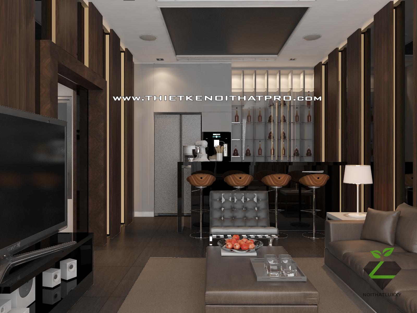 thiết kế nội thất Biệt Thự tại Hà Nội bt Vinhomes - riverside 59 1568085380