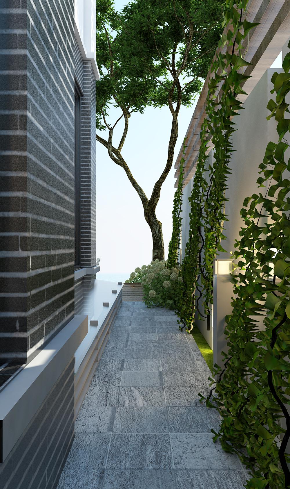 thiết kế nội thất Biệt Thự tại Hà Nội bt Vinhomes - riverside 6 1568085333
