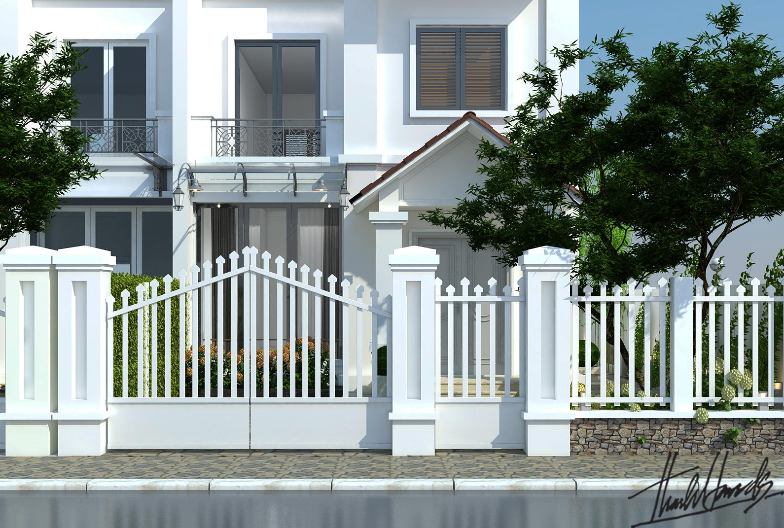 thiết kế nội thất Biệt Thự tại Hà Nội bt Vinhomes - riverside 7 1568274530