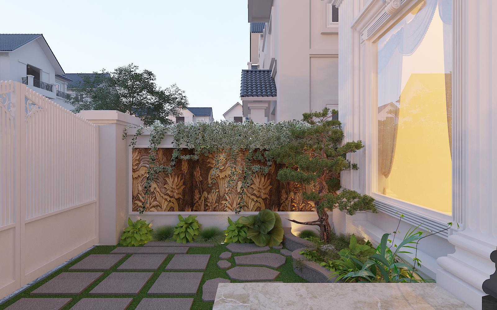 thiết kế nội thất Biệt Thự tại Hà Nội bt Vinhomes - riverside 7 1568276257