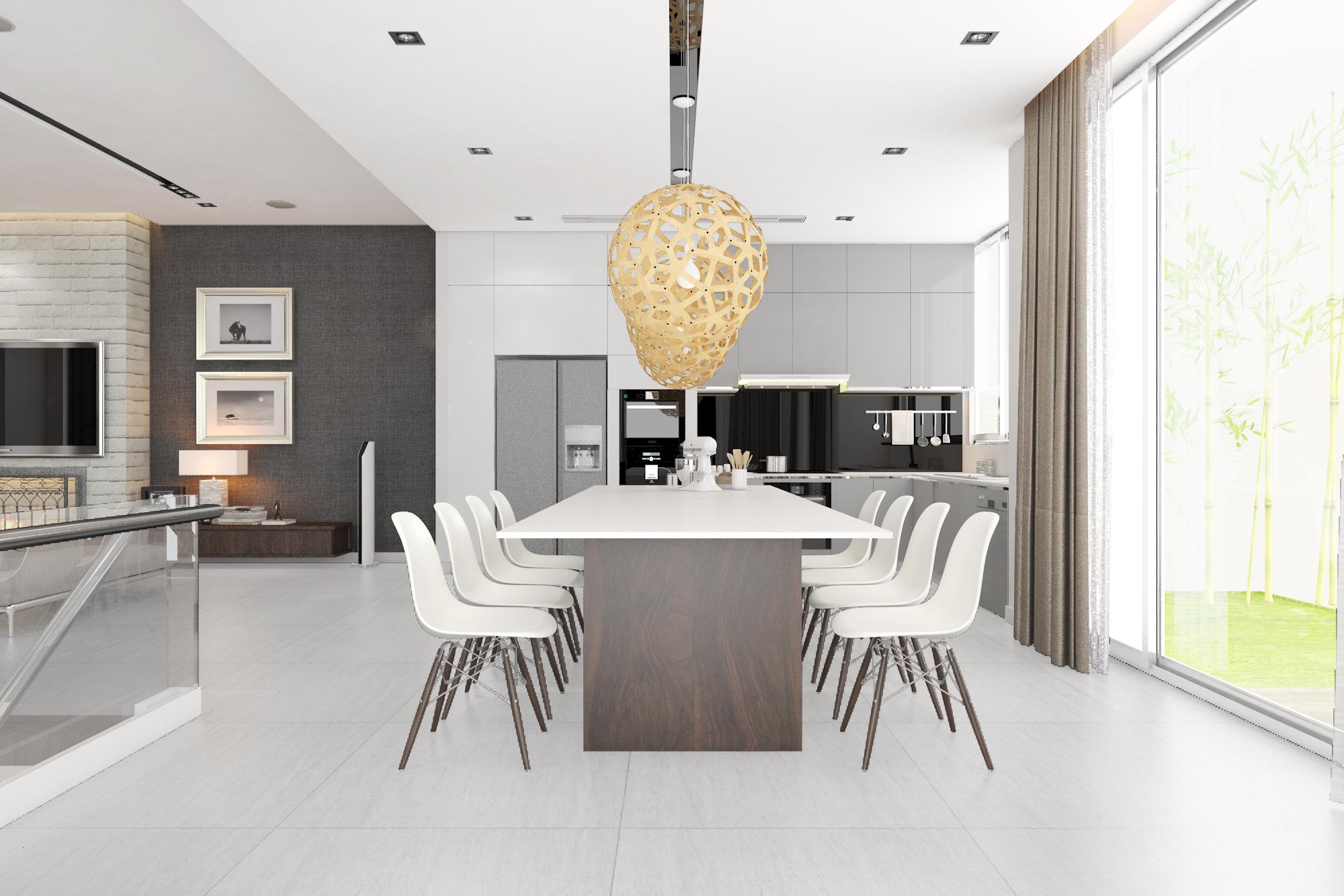 thiết kế nội thất Biệt Thự tại Hà Nội bt Vinhomes - riverside 8 1568085332