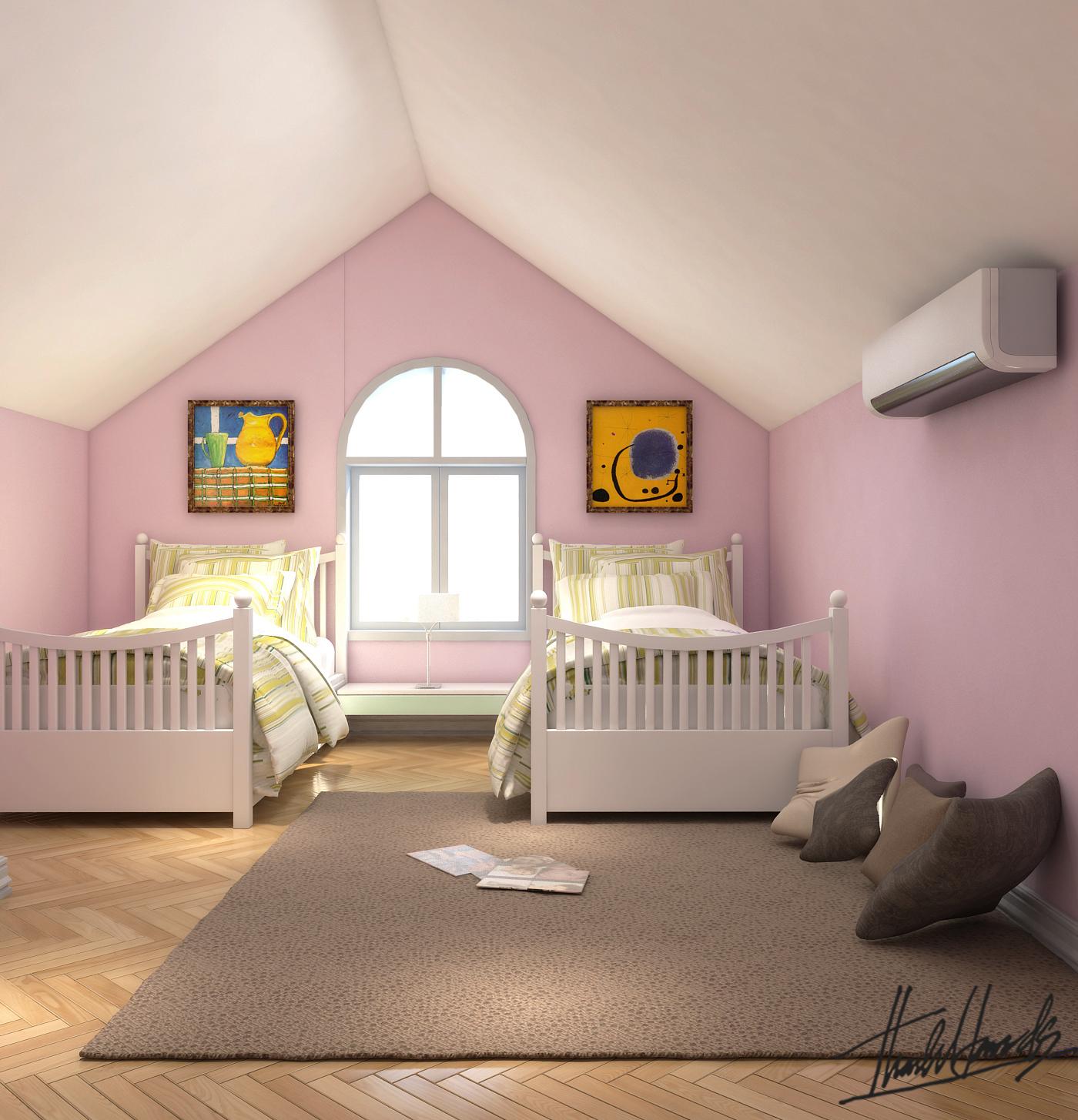 thiết kế nội thất Biệt Thự tại Hà Nội bt Vinhomes - riverside 8 1568274525