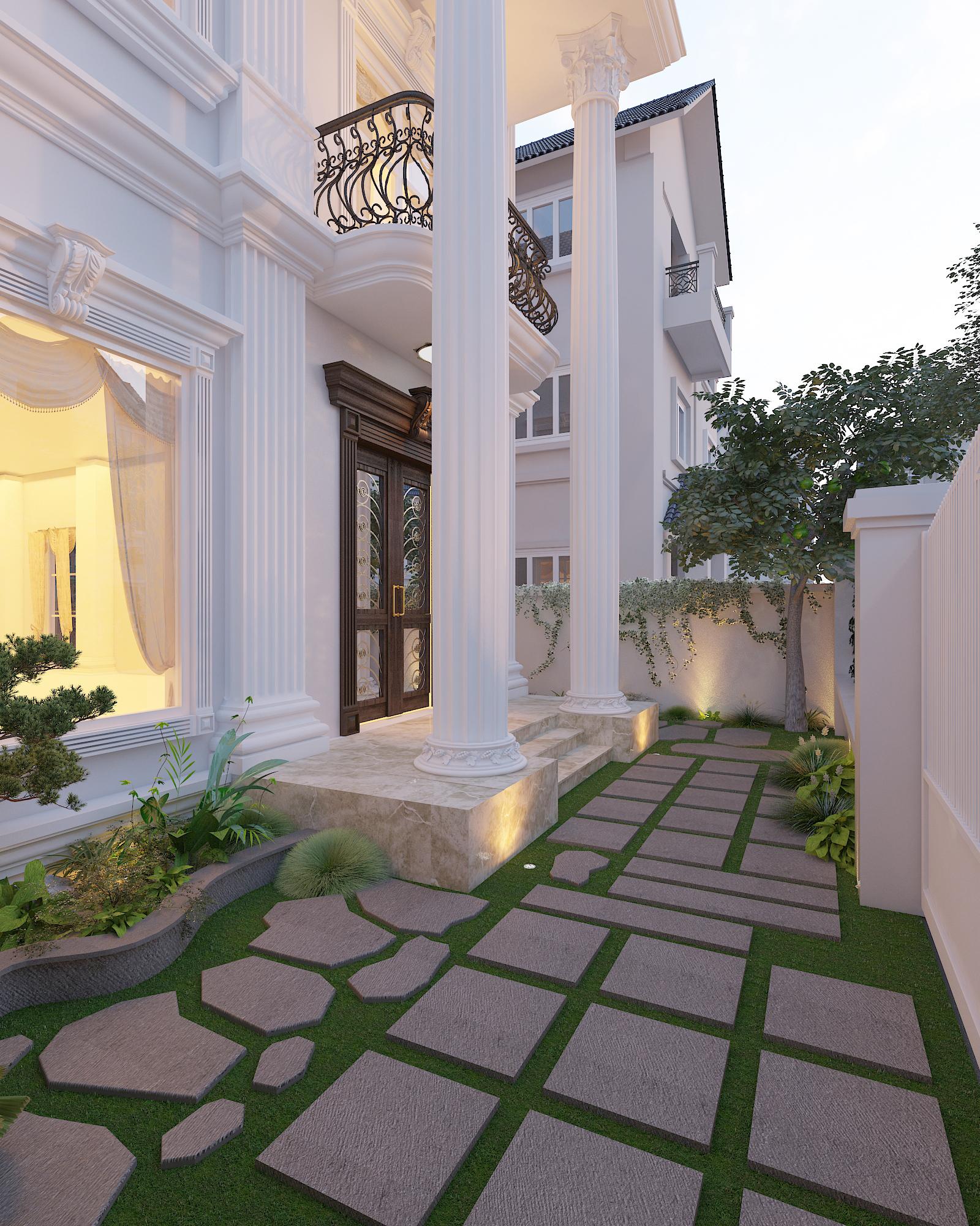 thiết kế nội thất Biệt Thự tại Hà Nội bt Vinhomes - riverside 8 1568276259