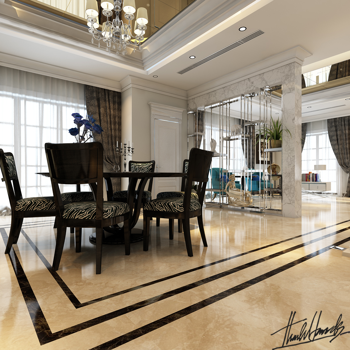 thiết kế nội thất Biệt Thự tại Hà Nội Biệt thự - Việt Hưng  9 1568273819