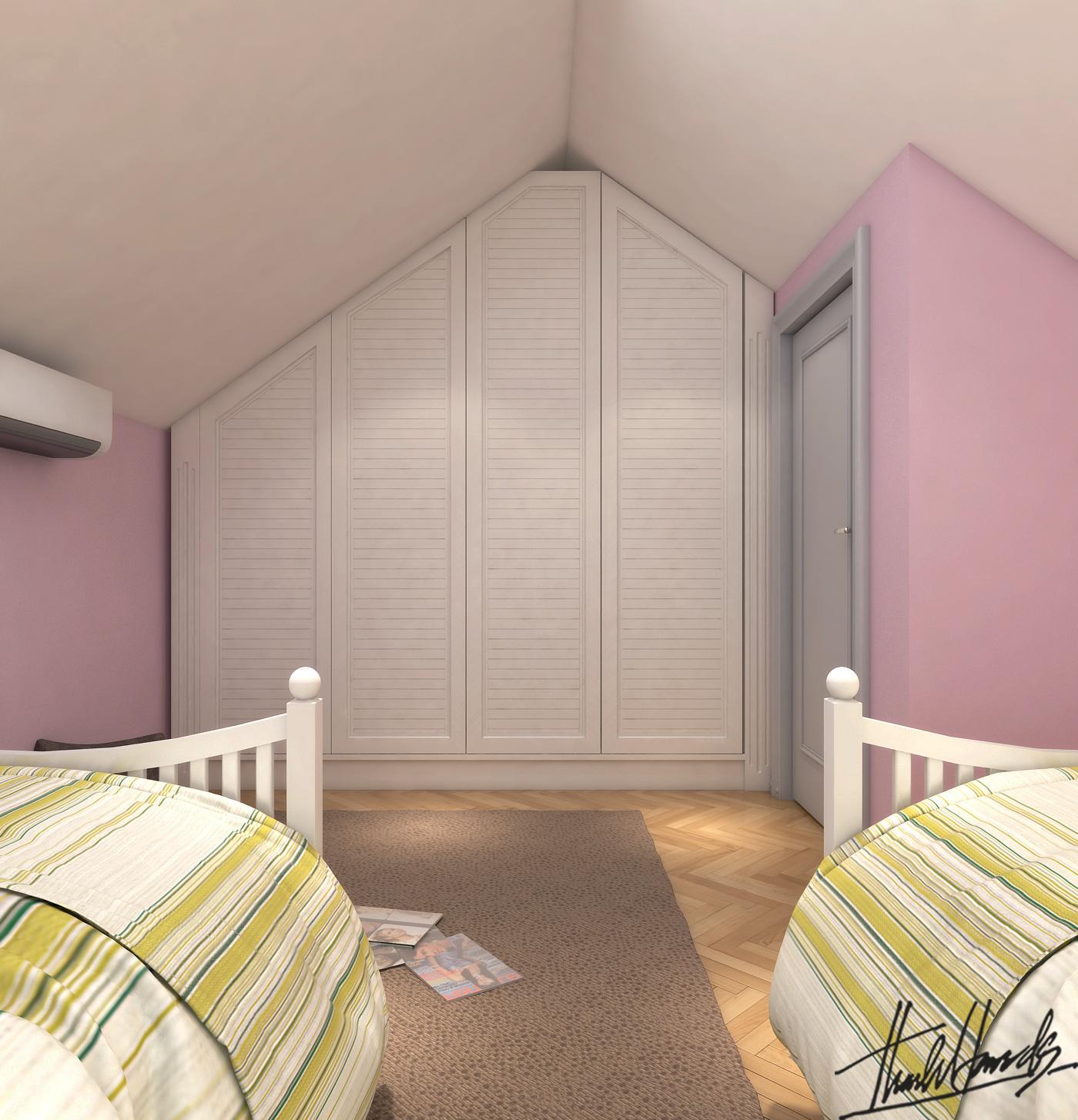thiết kế nội thất Biệt Thự tại Hà Nội bt Vinhomes - riverside 9 1568274523