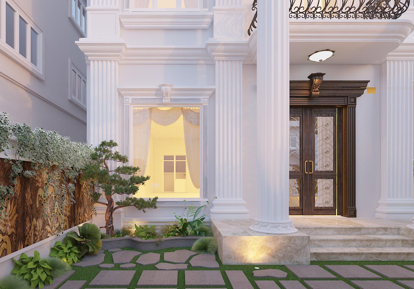 thiết kế nội thất Biệt Thự tại Hà Nội bt Vinhomes - riverside 9 1568276258