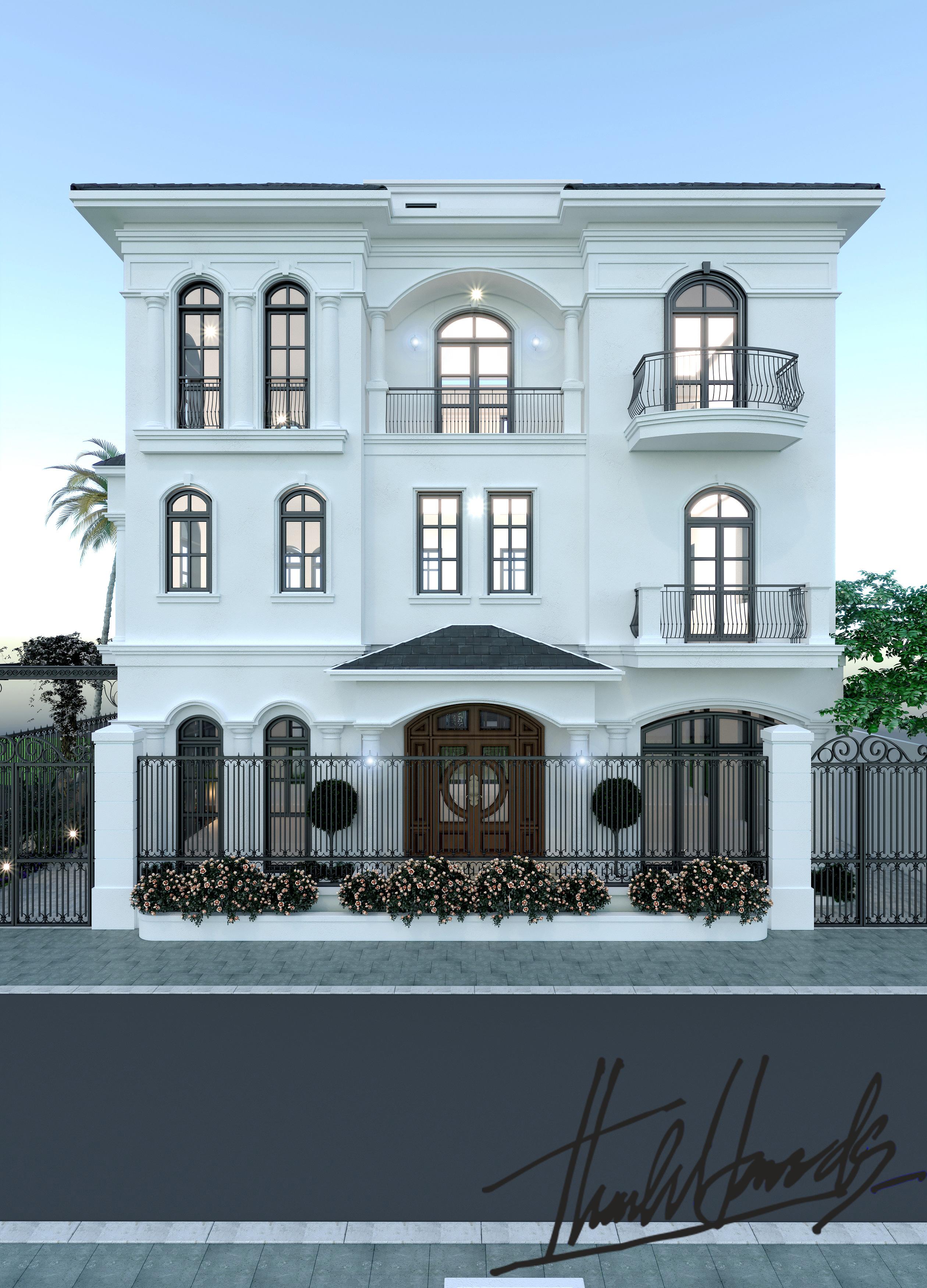 thiết kế nội thất Biệt Thự tại Hải Phòng Biệt thự Vinhomes - imperia ( khu VEN) 0 1568278739