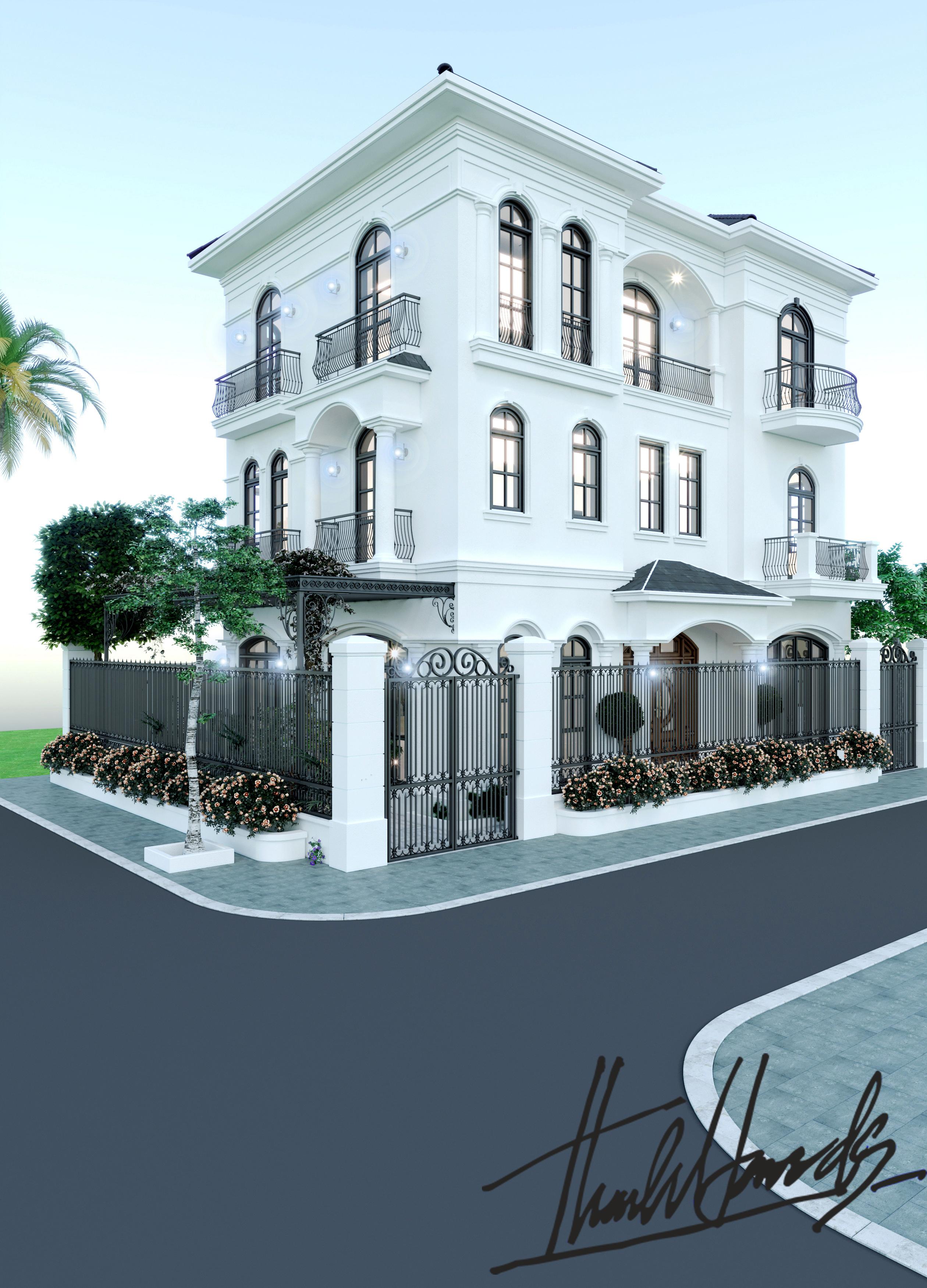 thiết kế nội thất Biệt Thự tại Hải Phòng Biệt thự Vinhomes - imperia ( khu VEN) 1 1568278760