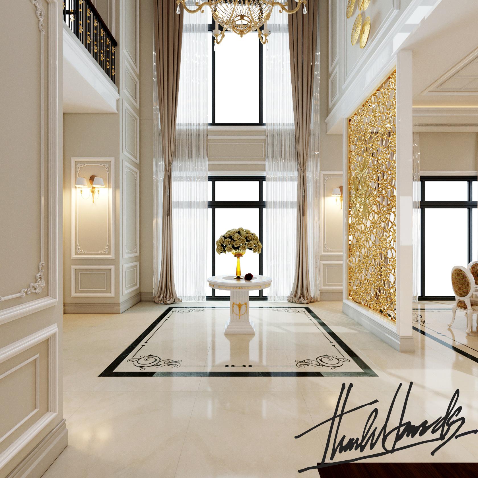 thiết kế nội thất Biệt Thự tại Hải Phòng Biệt thự Vinhomes - imperia ( khu MHT) 12 1568275624