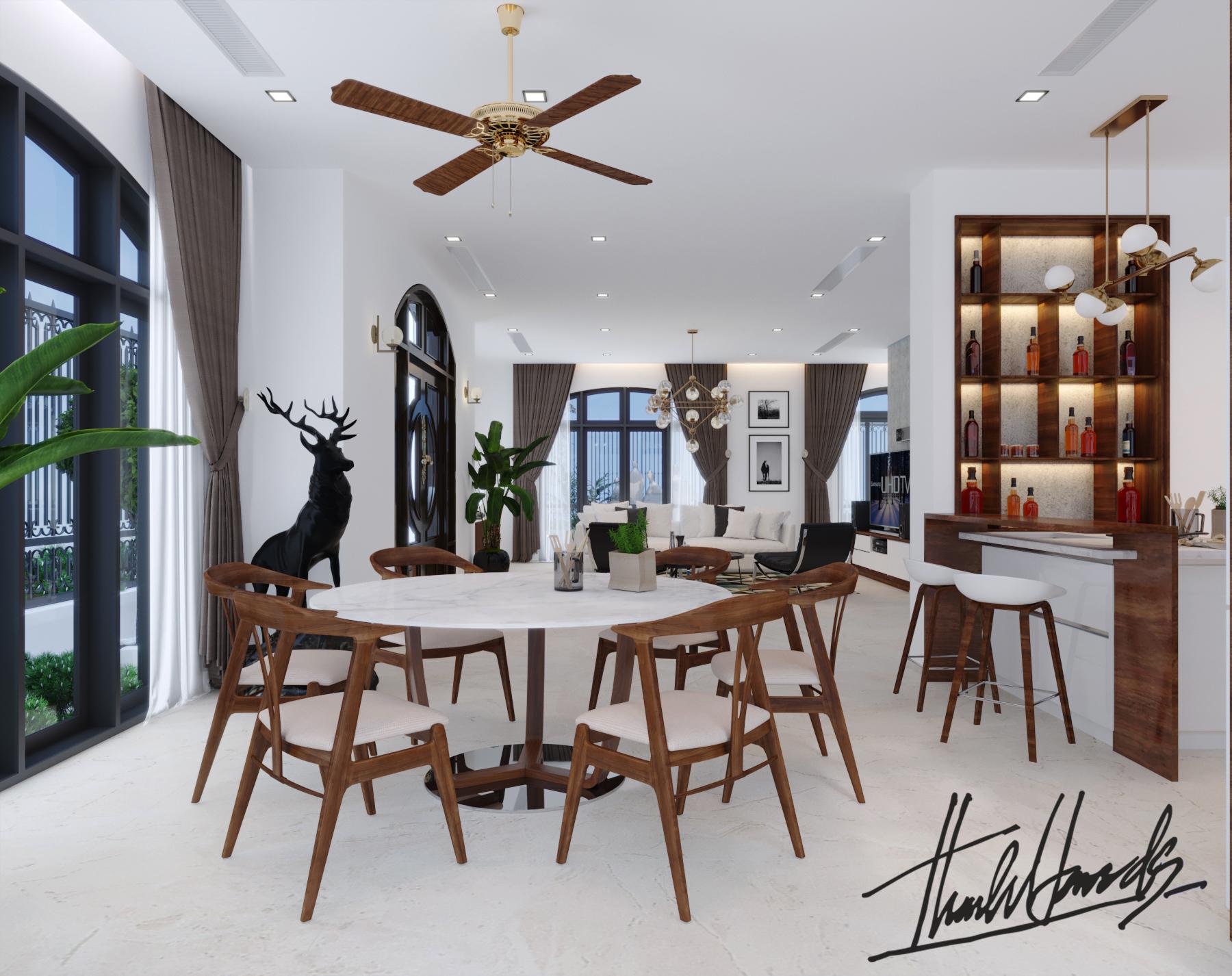 thiết kế nội thất Biệt Thự tại Hải Phòng Biệt thự Vinhomes - imperia ( khu VEN) 12 1568278754