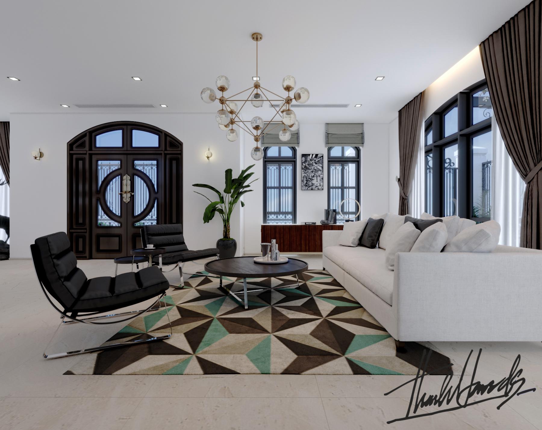 thiết kế nội thất Biệt Thự tại Hải Phòng Biệt thự Vinhomes - imperia ( khu VEN) 13 1568278764