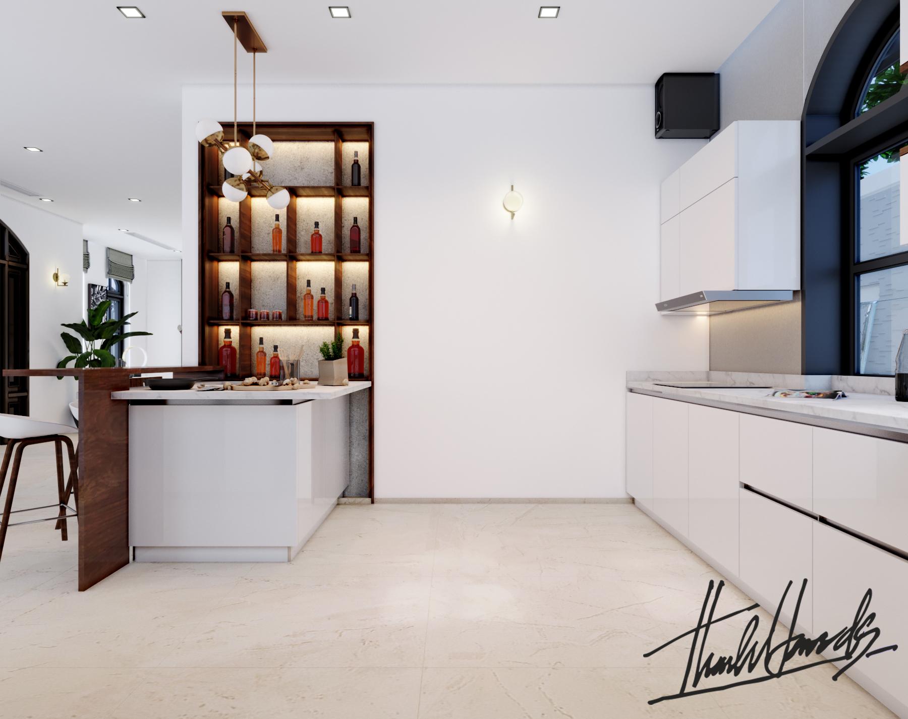 thiết kế nội thất Biệt Thự tại Hải Phòng Biệt thự Vinhomes - imperia ( khu VEN) 14 1568278756