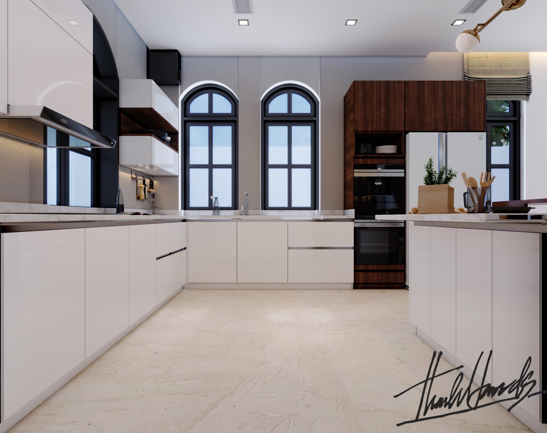 thiết kế nội thất Biệt Thự tại Hải Phòng Biệt thự Vinhomes - imperia ( khu VEN) 15 1568278759