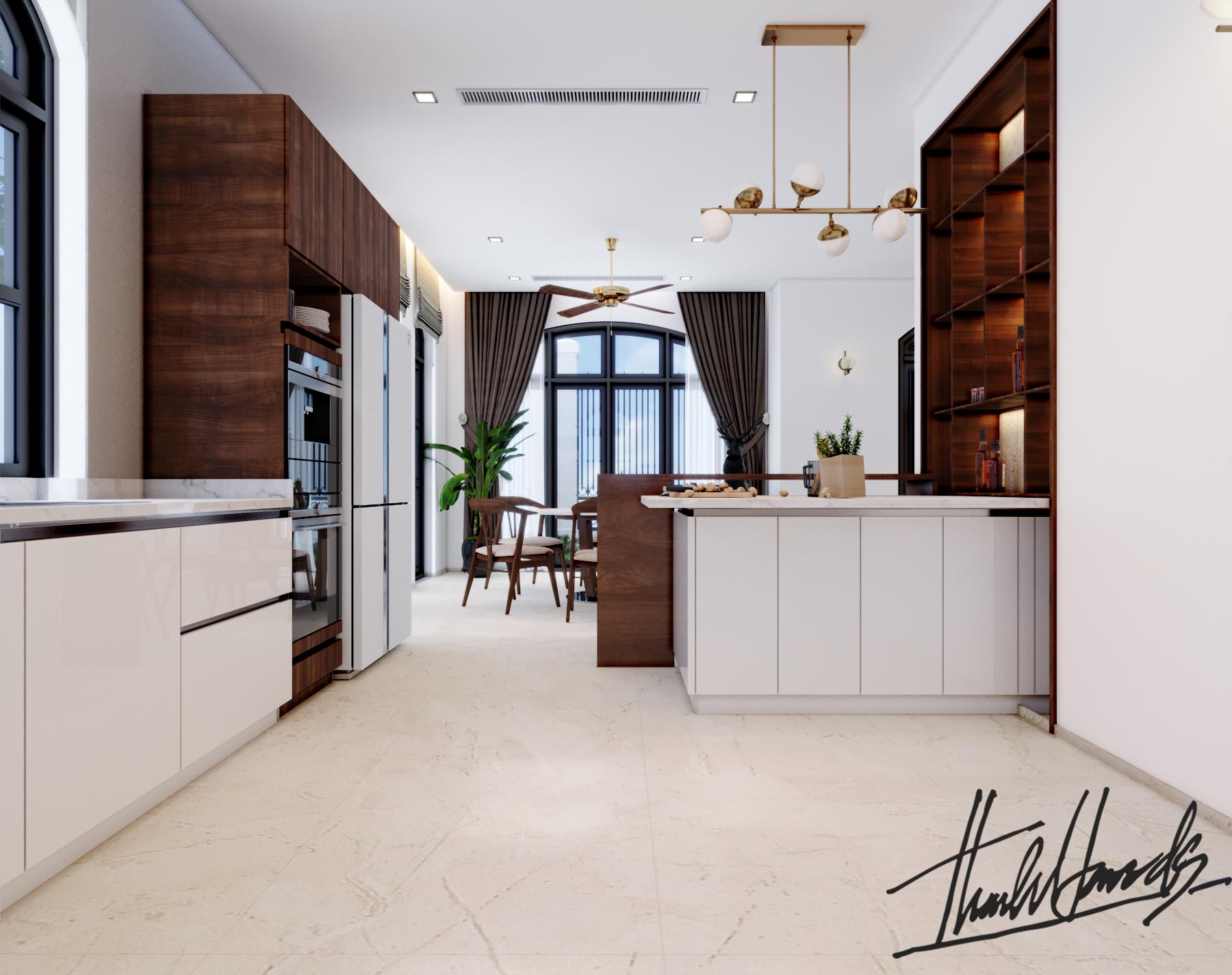 thiết kế nội thất Biệt Thự tại Hải Phòng Biệt thự Vinhomes - imperia ( khu VEN) 16 1568278761