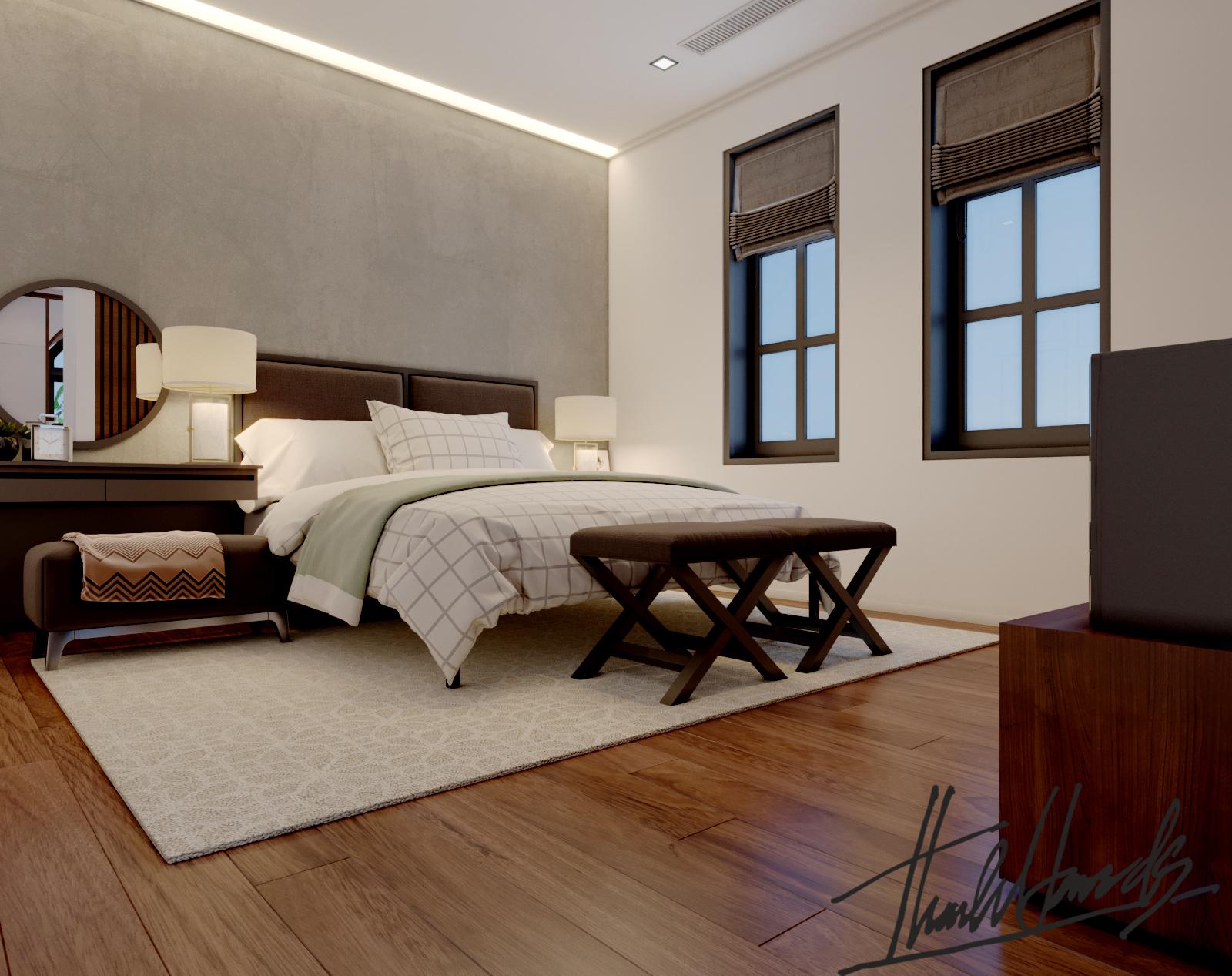 thiết kế nội thất Biệt Thự tại Hải Phòng Biệt thự Vinhomes - imperia ( khu VEN) 17 1568278770