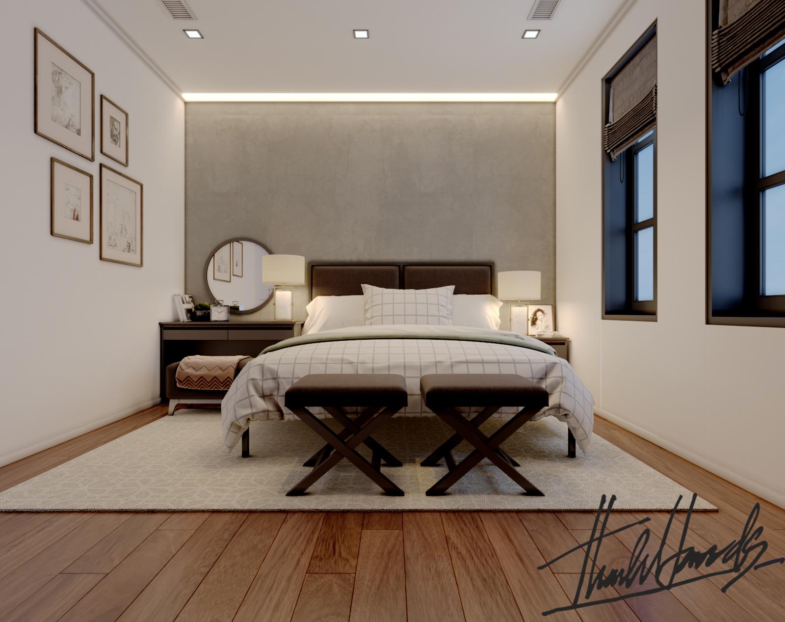 thiết kế nội thất Biệt Thự tại Hải Phòng Biệt thự Vinhomes - imperia ( khu VEN) 18 1568278764