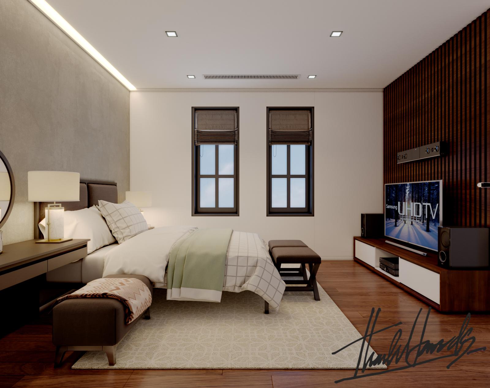thiết kế nội thất Biệt Thự tại Hải Phòng Biệt thự Vinhomes - imperia ( khu VEN) 19 1568278773