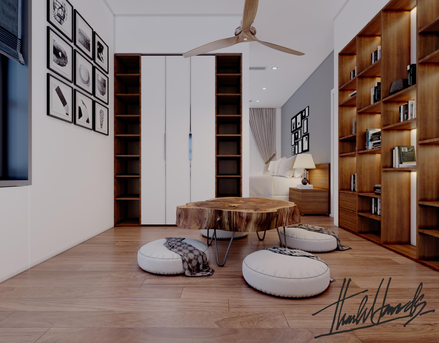 thiết kế nội thất Biệt Thự tại Hải Phòng Biệt thự Vinhomes - imperia ( khu VEN) 24 1568278779