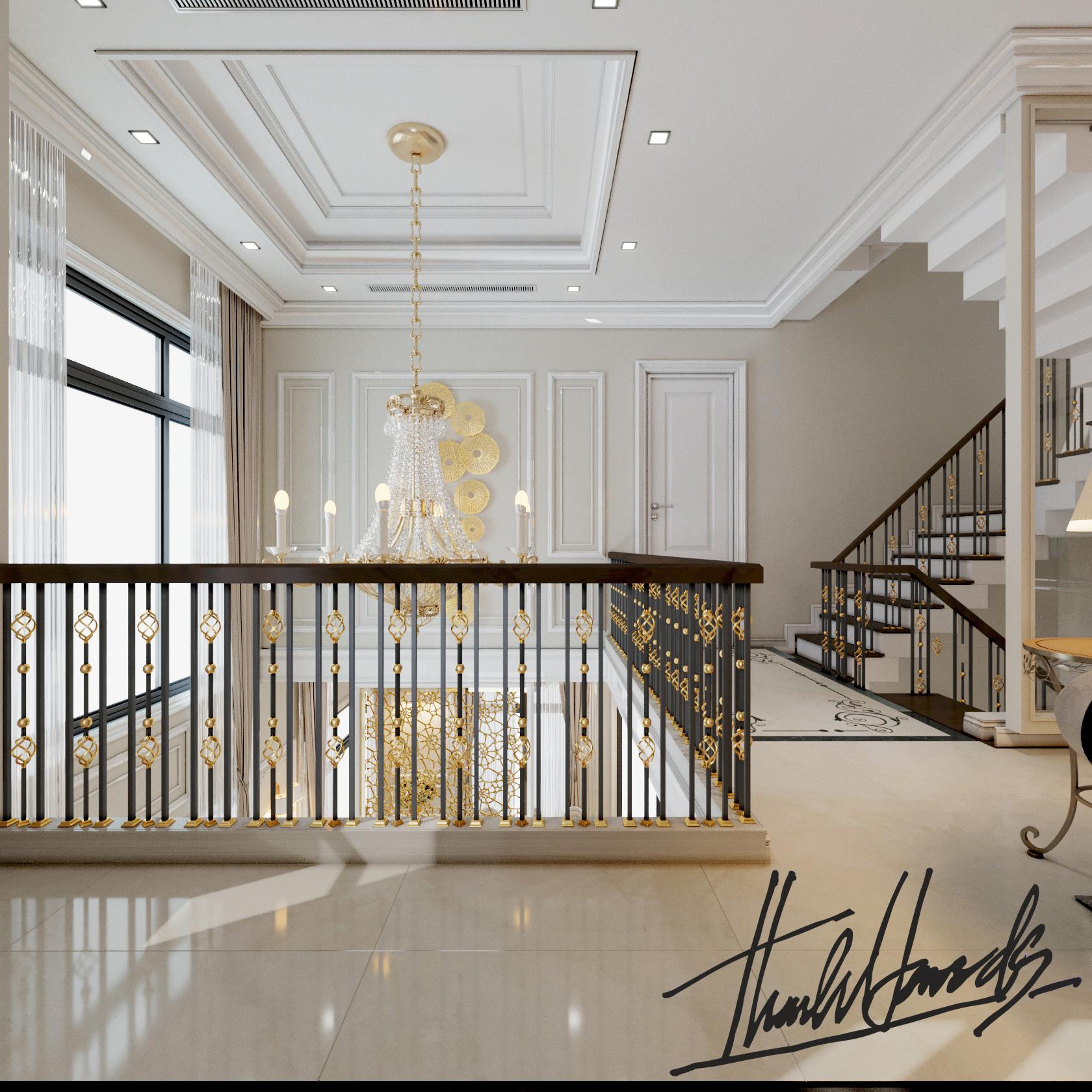 thiết kế nội thất Biệt Thự tại Hải Phòng Biệt thự Vinhomes - imperia ( khu MHT) 25 1568275635