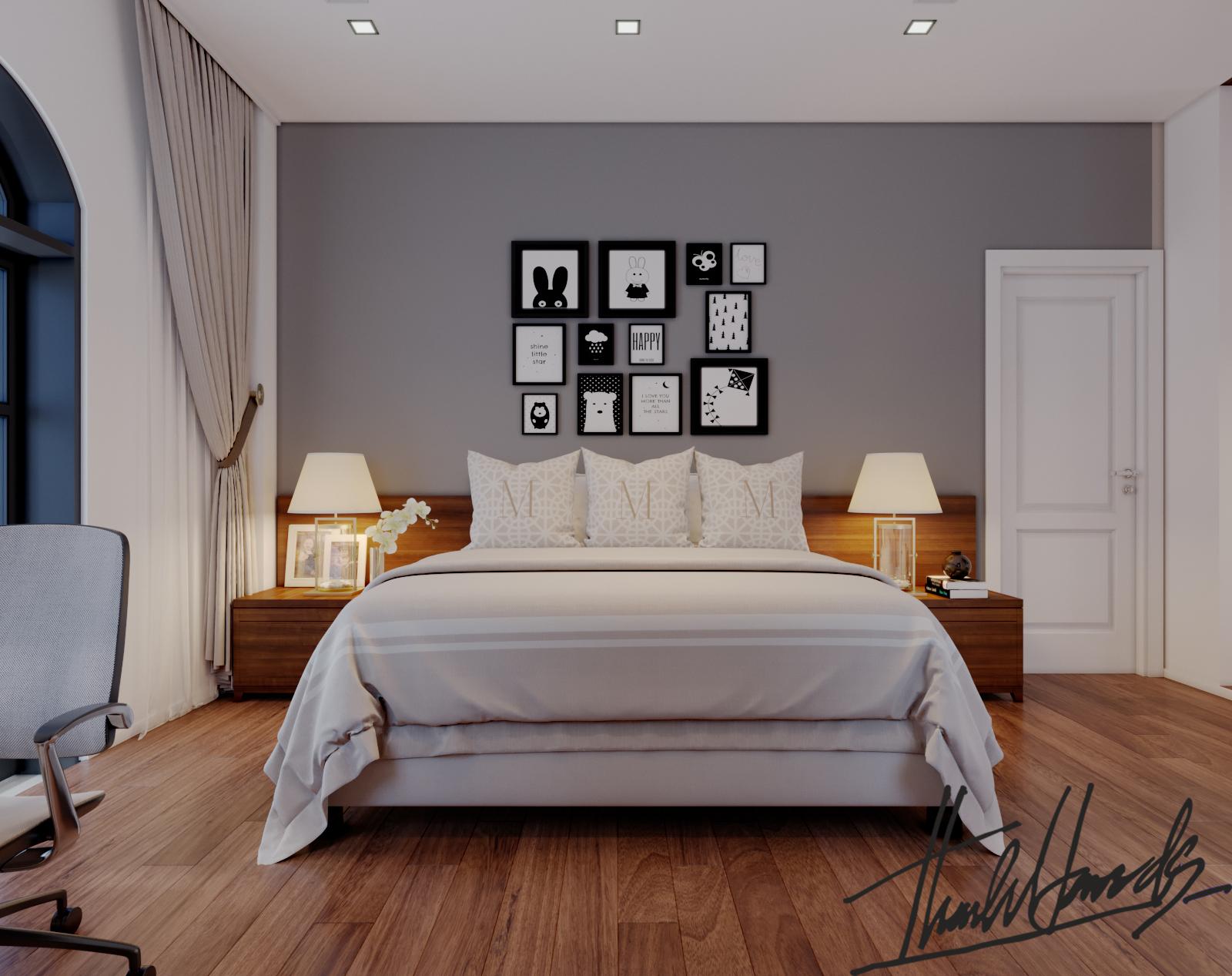 thiết kế nội thất Biệt Thự tại Hải Phòng Biệt thự Vinhomes - imperia ( khu VEN) 27 1568278780