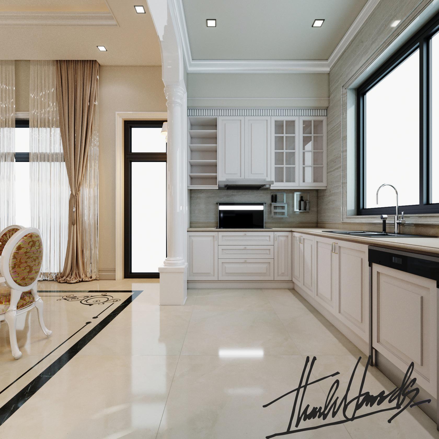 thiết kế nội thất Biệt Thự tại Hải Phòng Biệt thự Vinhomes - imperia ( khu MHT) 28 1568275638