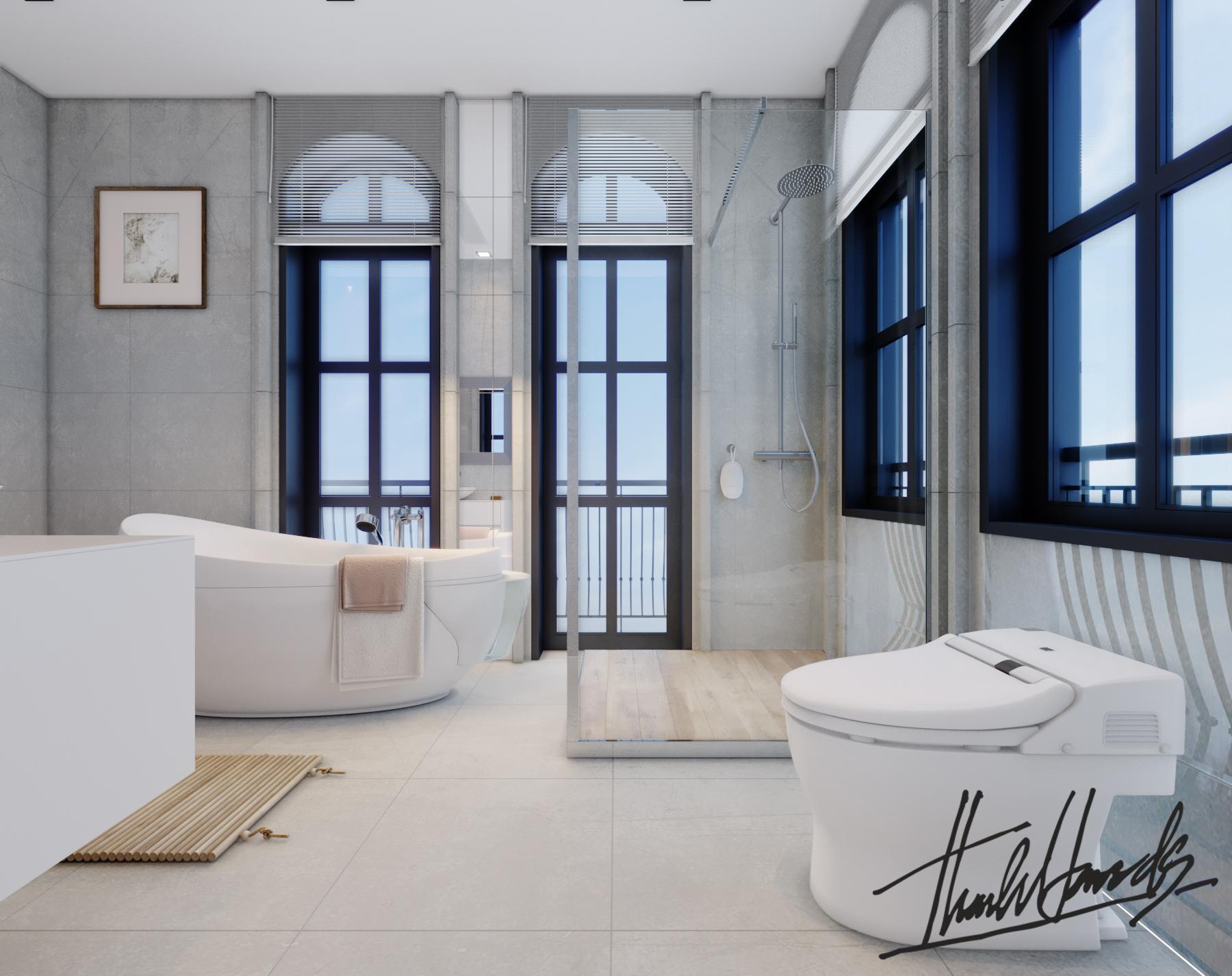 thiết kế nội thất Biệt Thự tại Hải Phòng Biệt thự Vinhomes - imperia ( khu VEN) 30 1568278789