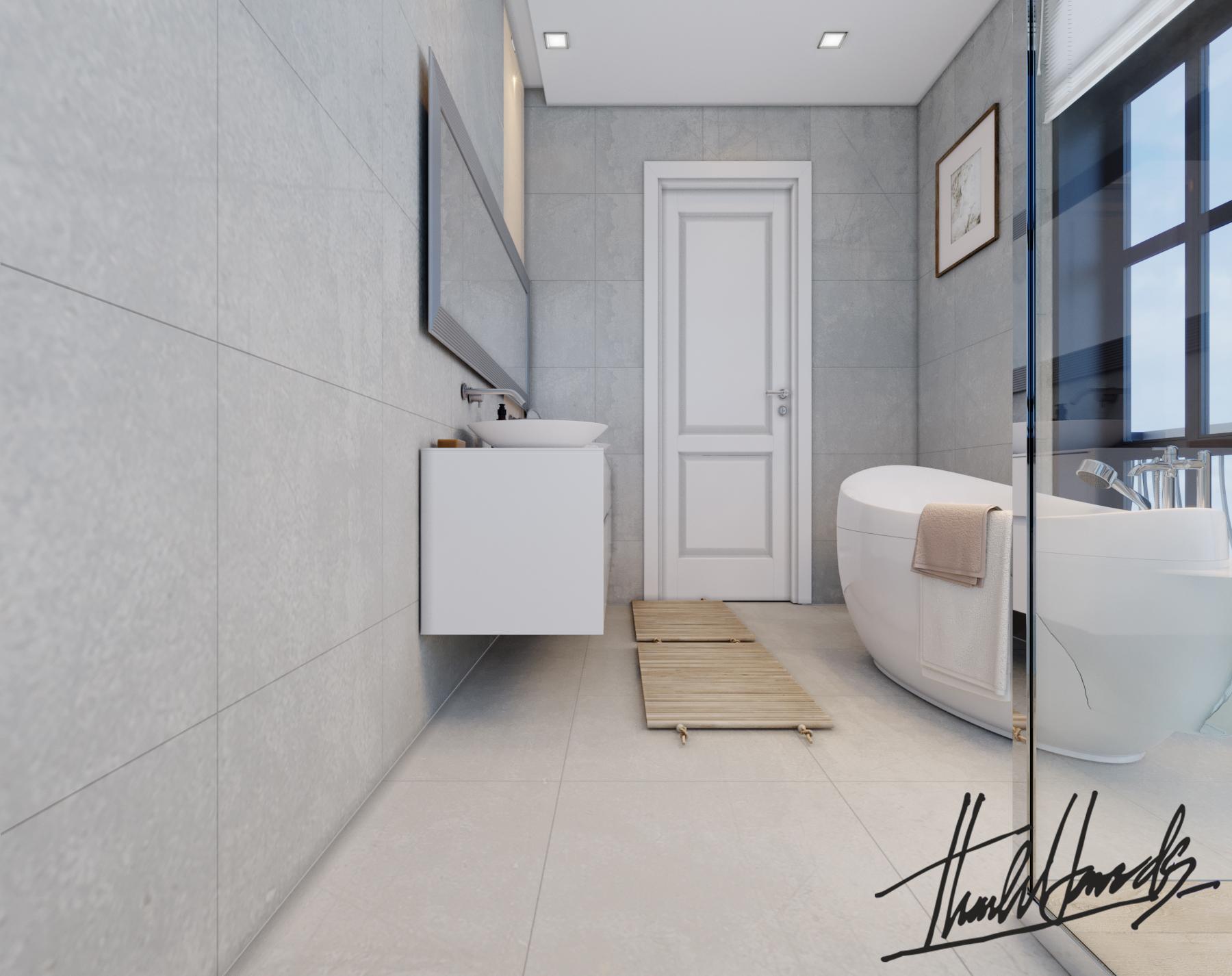 thiết kế nội thất Biệt Thự tại Hải Phòng Biệt thự Vinhomes - imperia ( khu VEN) 32 1568278789