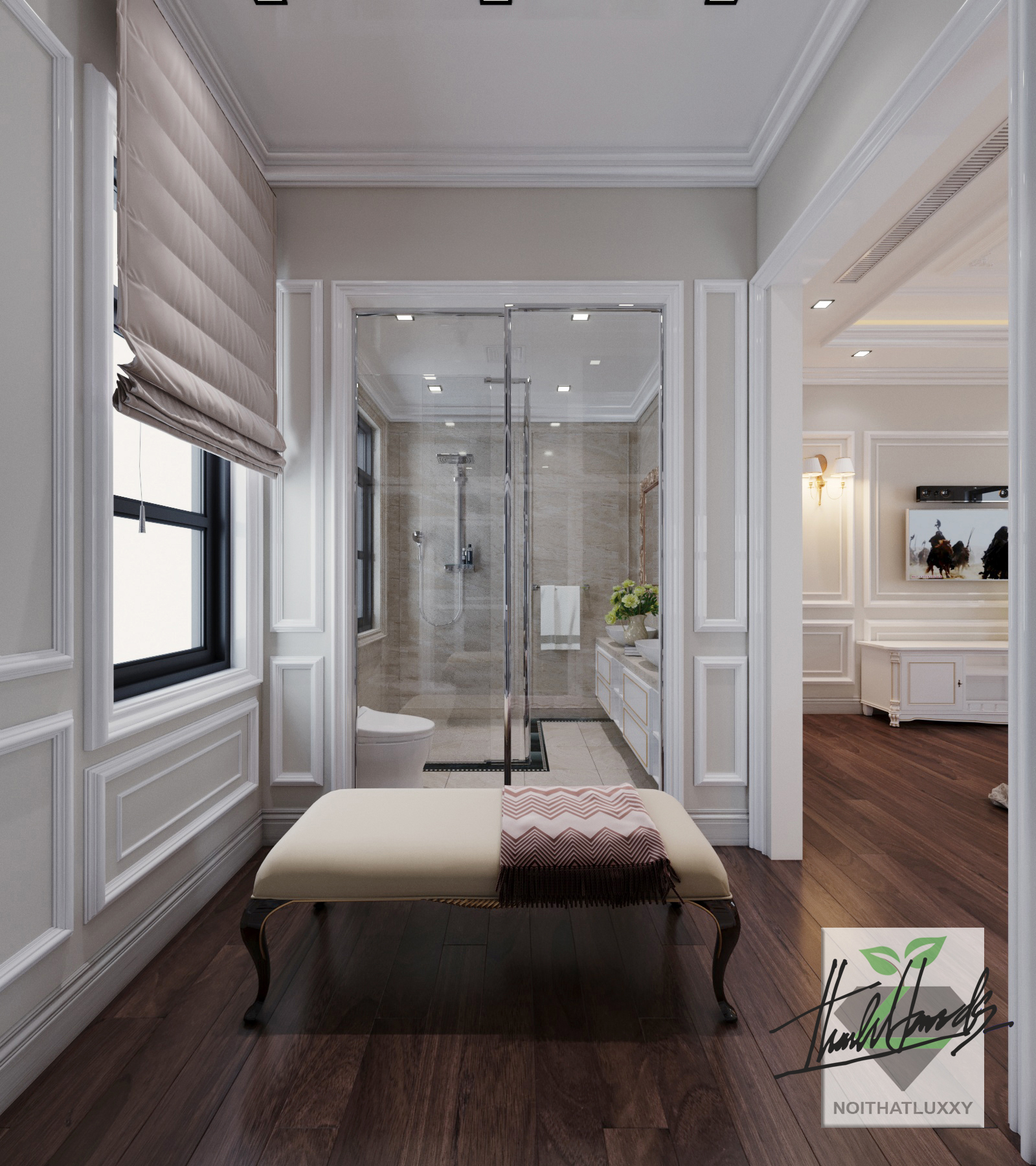 thiết kế nội thất Biệt Thự tại Hải Phòng Biệt thự Vinhomes - imperia ( khu MHT) 33 1568275642