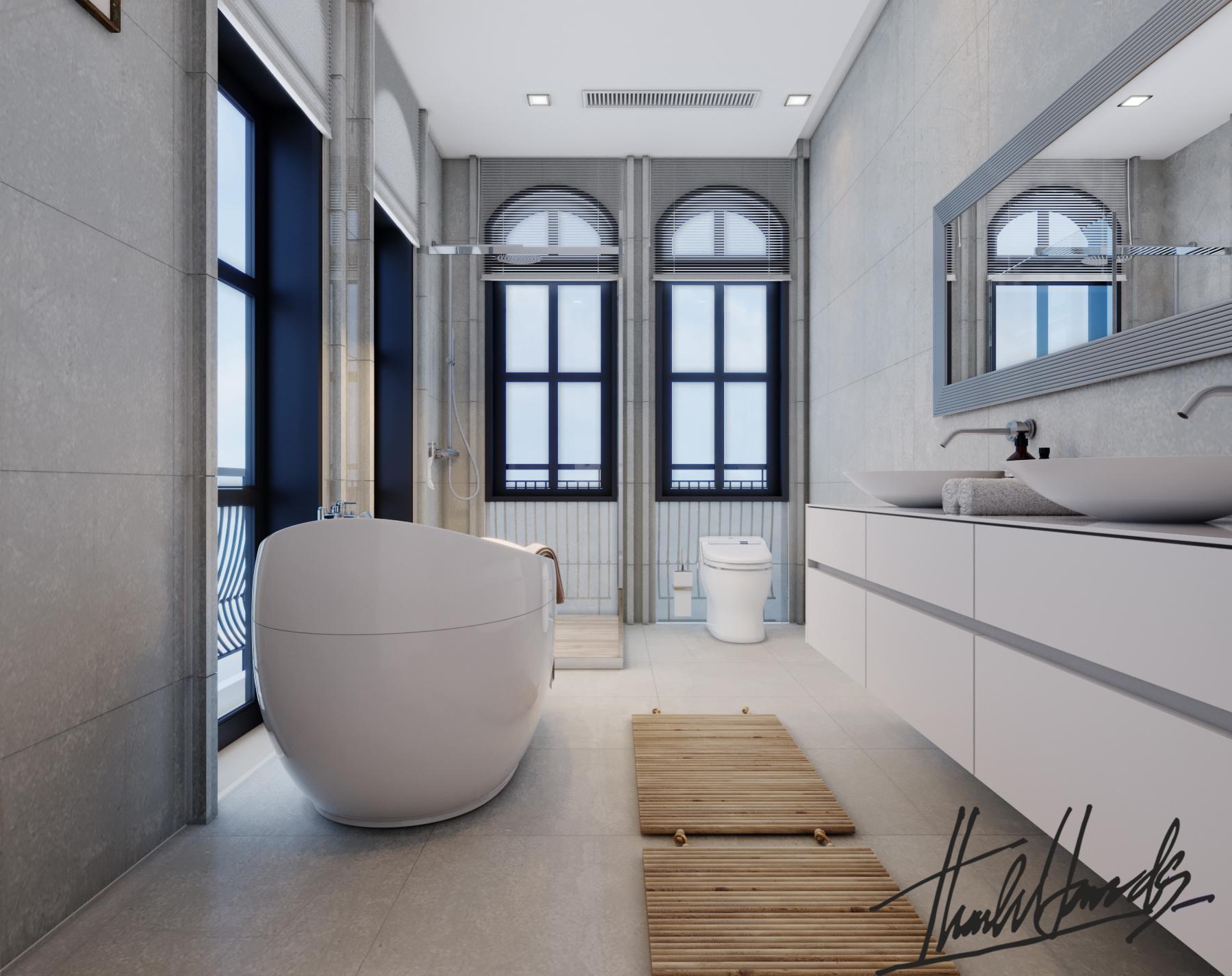 thiết kế nội thất Biệt Thự tại Hải Phòng Biệt thự Vinhomes - imperia ( khu VEN) 33 1568278790