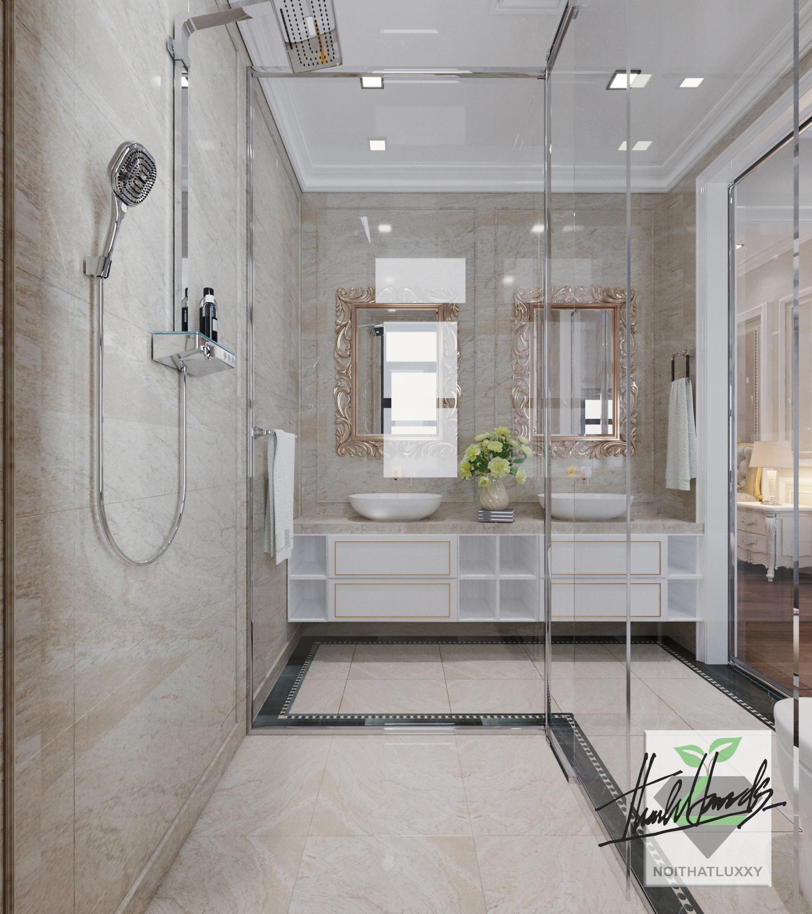 thiết kế nội thất Biệt Thự tại Hải Phòng Biệt thự Vinhomes - imperia ( khu MHT) 37 1568275646