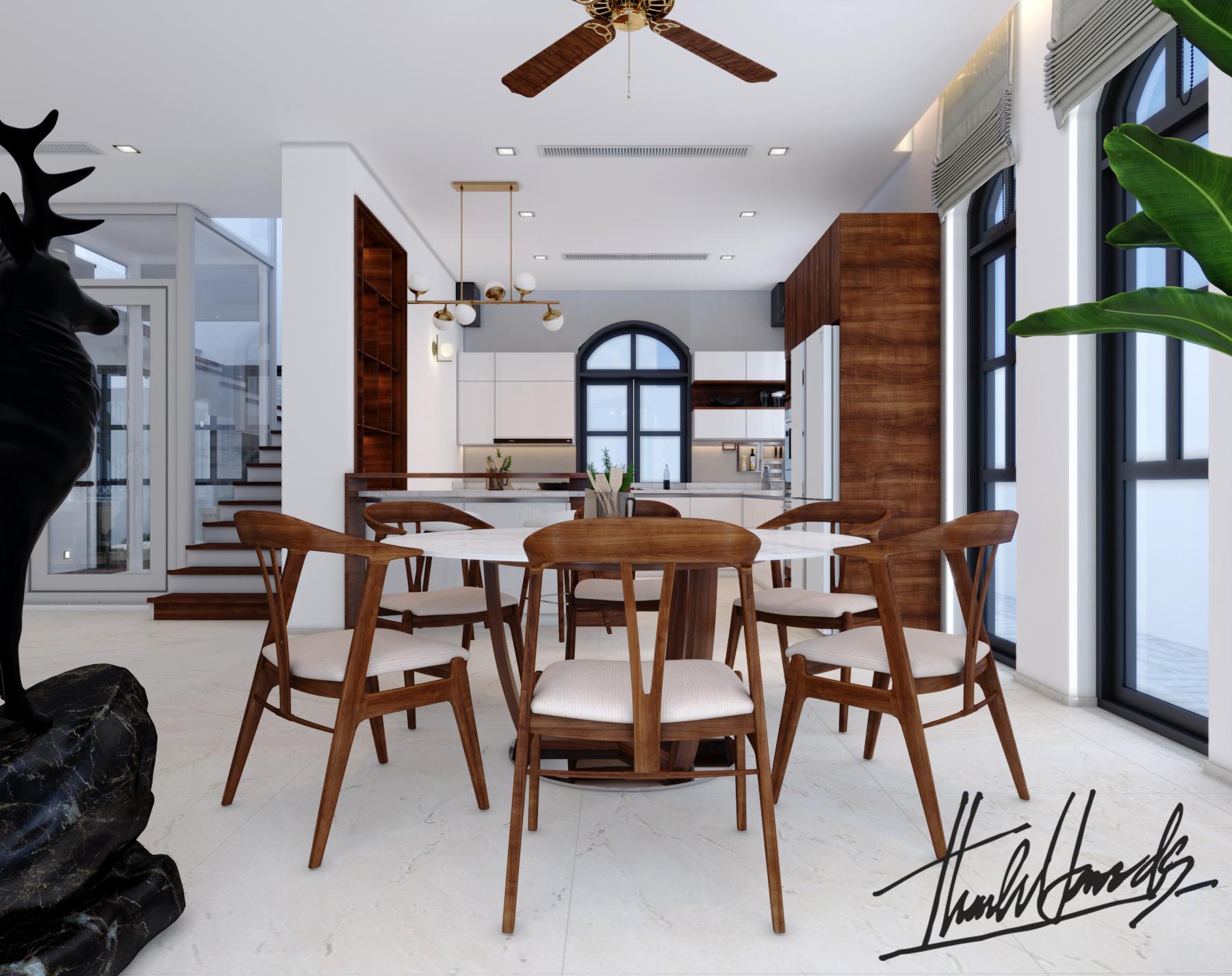 thiết kế nội thất Biệt Thự tại Hải Phòng Biệt thự Vinhomes - imperia ( khu VEN) 7 1568278753