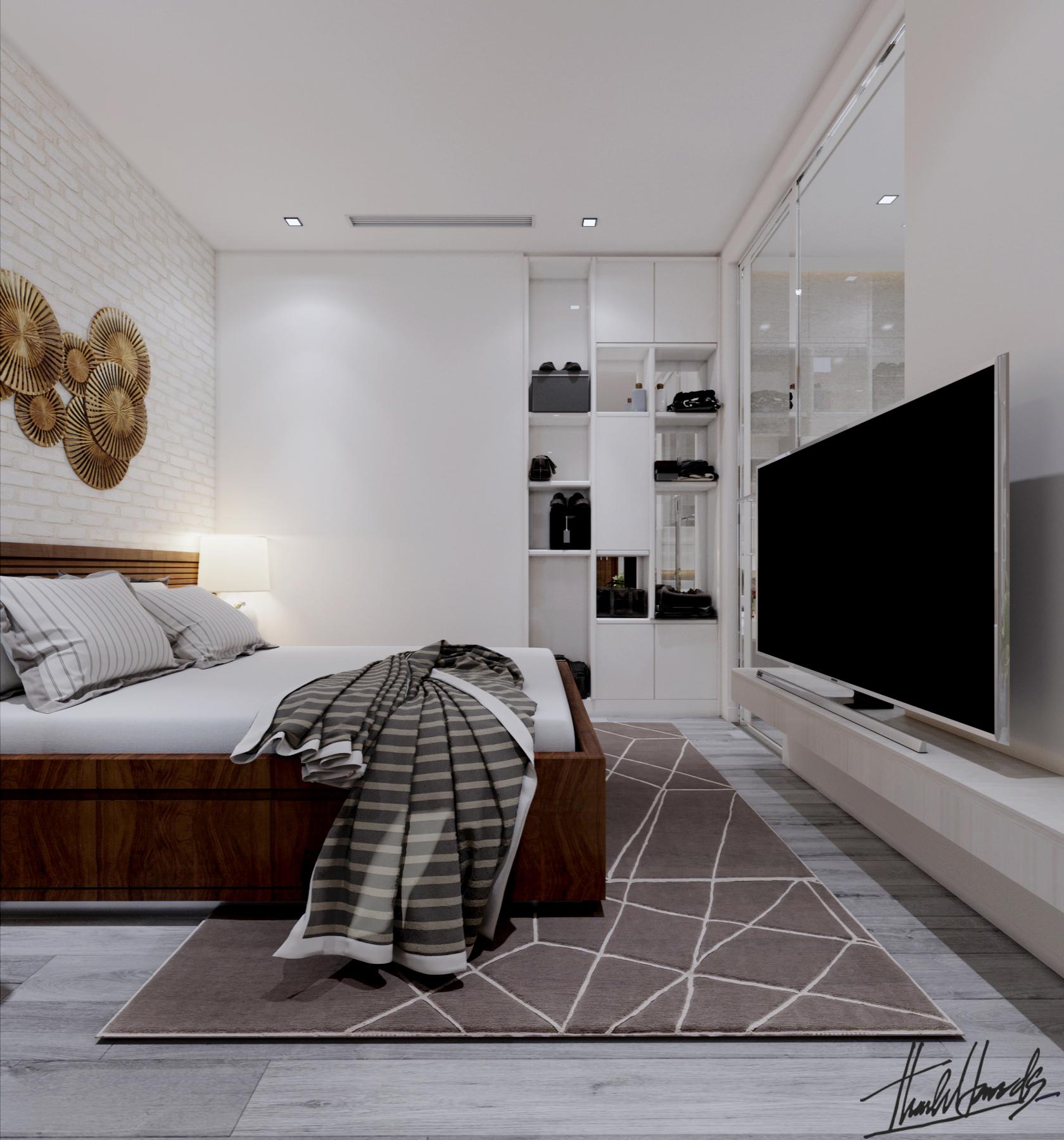 thiết kế Nội thất Chung Cư chung cư - Vin mỹ đình156