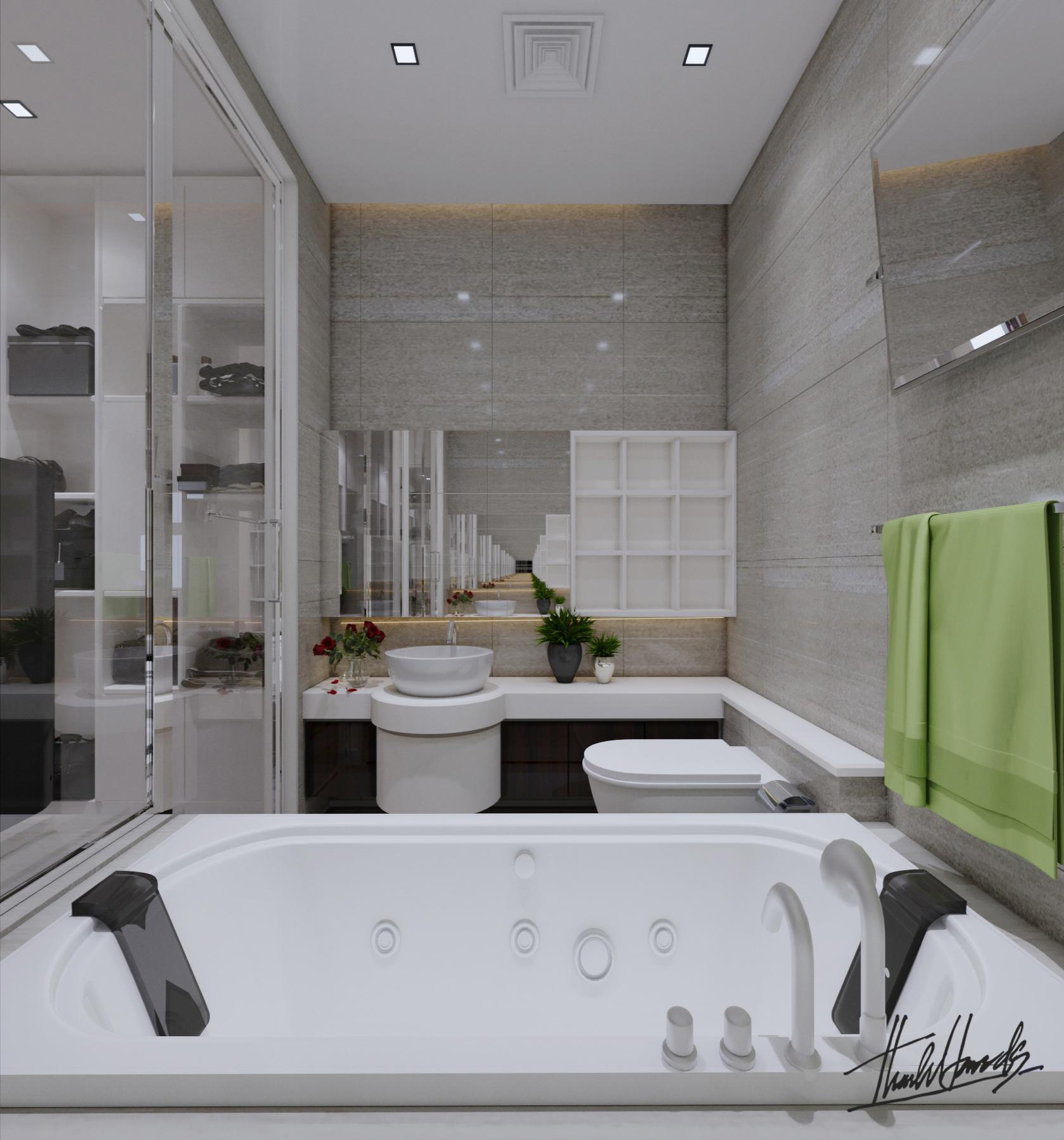 thiết kế Nội thất Chung Cư chung cư - Vin mỹ đình207