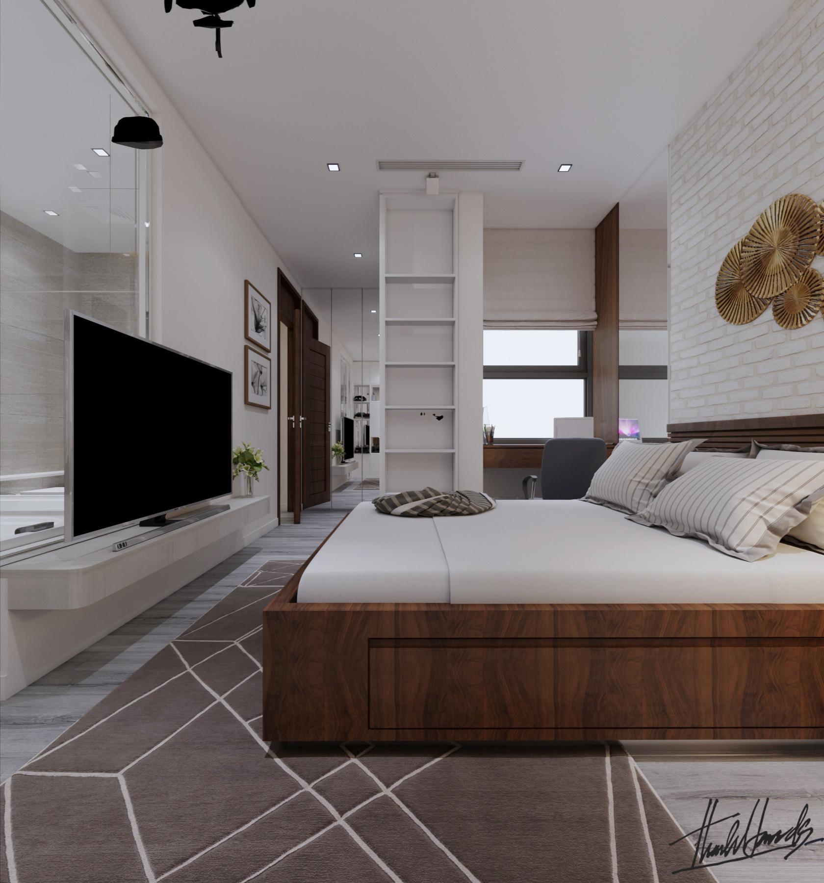 thiết kế Nội thất Chung Cư chung cư - Vin mỹ đình221