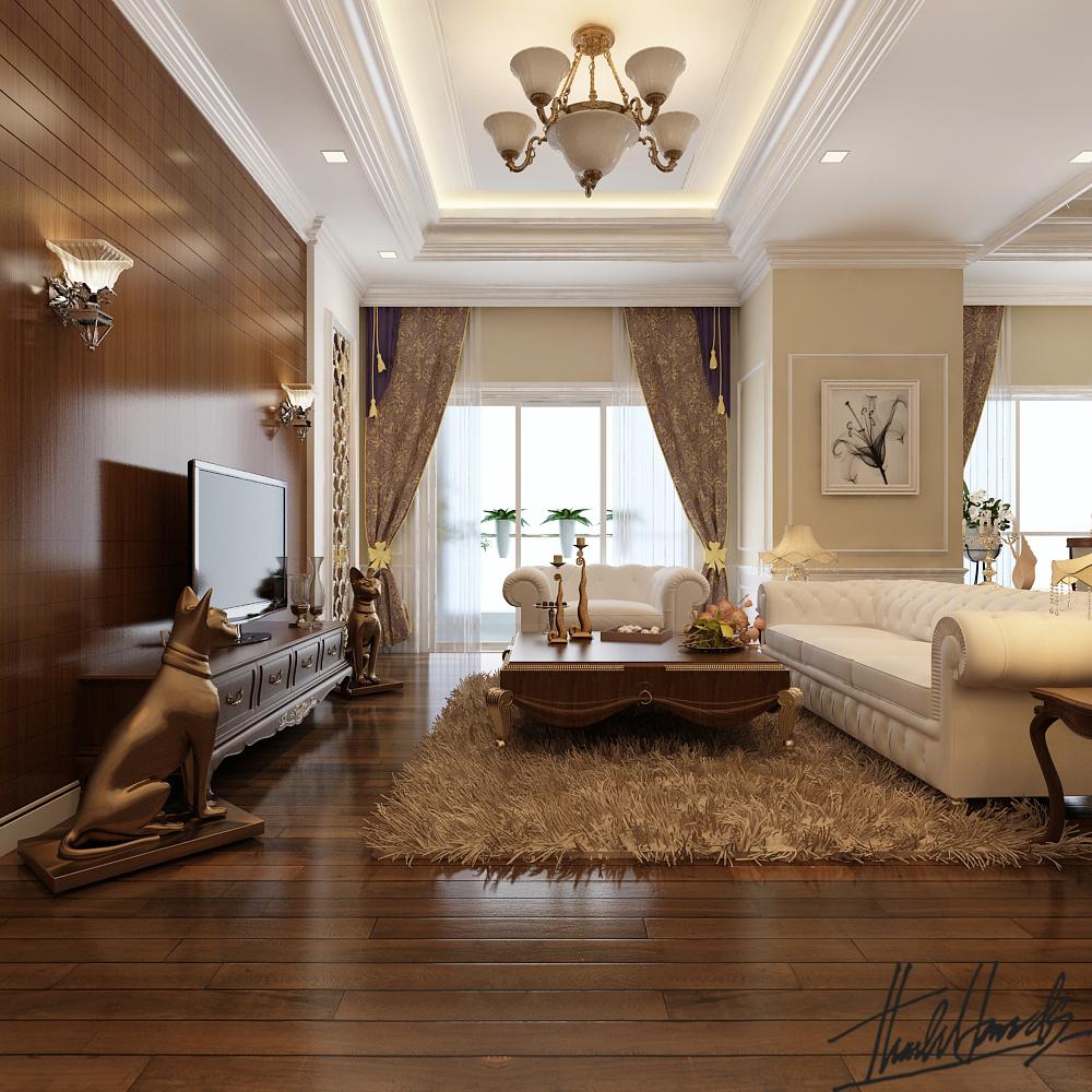 thiết kế nội thất chung cư tại Hà Nội chung cư roya city 0 1568274241