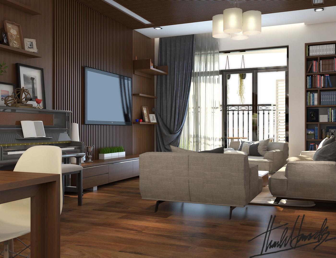 thiết kế nội thất chung cư tại Hà Nội chung cư roya city 0 1568274323