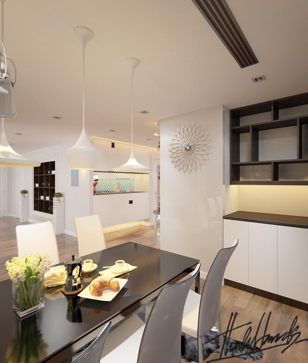 thiết kế nội thất chung cư tại Hà Nội Chung Cư Diamond Flower 10 1568274027