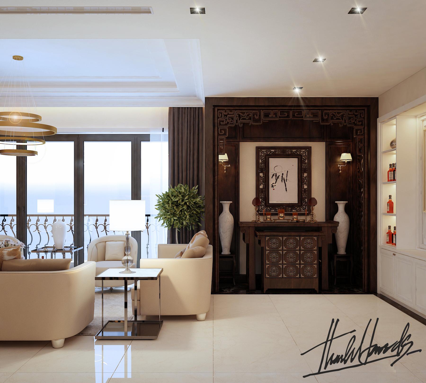 thiết kế nội thất chung cư tại Hà Nội chung cu royacity 1 1568191820
