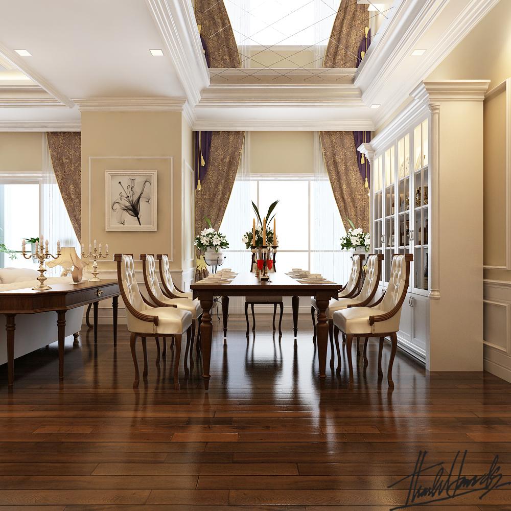 thiết kế nội thất chung cư tại Hà Nội chung cư roya city 1 1568274240
