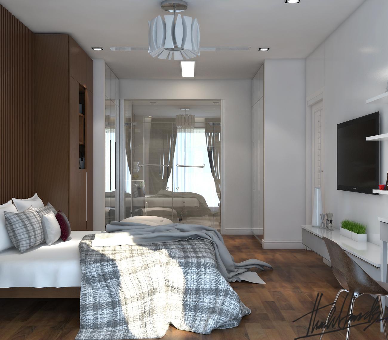 thiết kế nội thất chung cư tại Hà Nội chung cư roya city 15 1568274327
