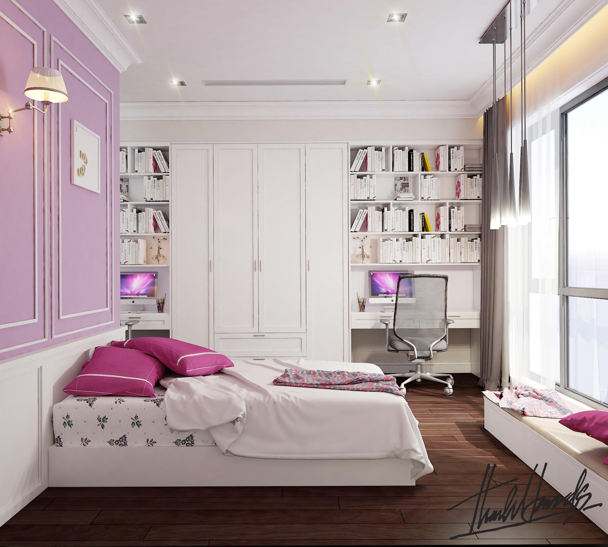 thiết kế nội thất chung cư tại Hà Nội chung cu royacity 18 1568191849