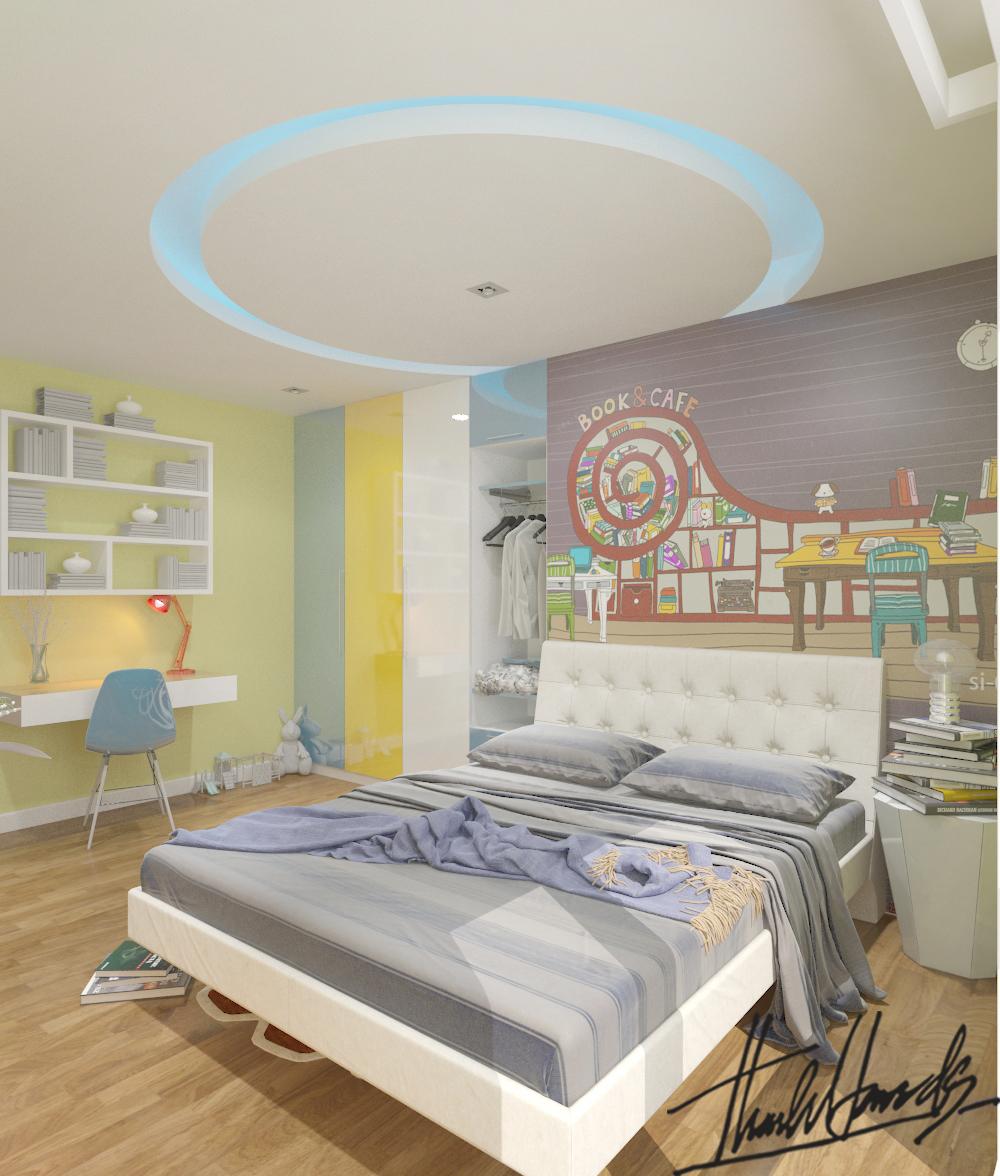 thiết kế nội thất chung cư tại Hà Nội Chung Cư Diamond Flower 19 1568274030