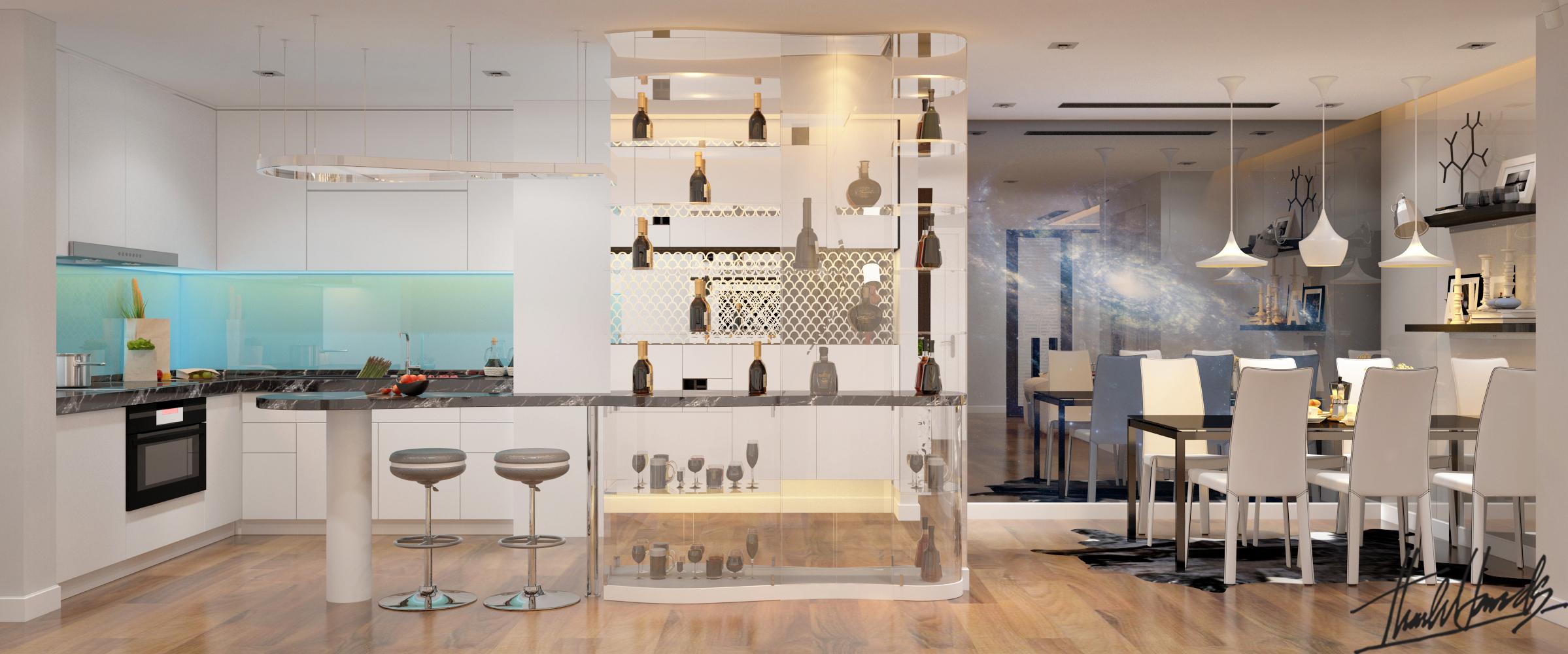 thiết kế nội thất chung cư tại Hà Nội Chung Cư Diamond Flower 2 1568274025