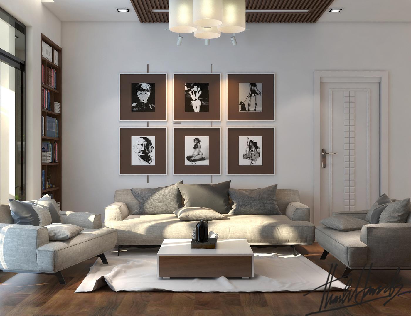 thiết kế nội thất chung cư tại Hà Nội chung cư roya city 2 1568274323