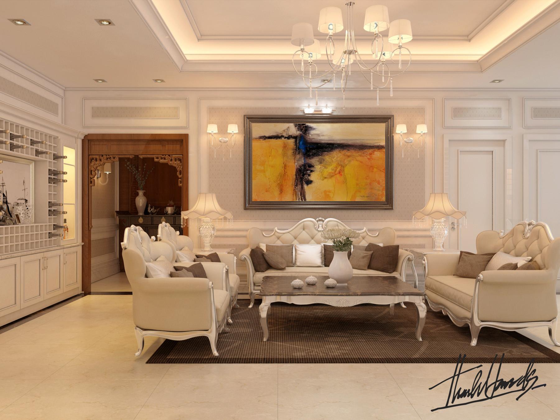 thiết kế nội thất chung cư tại Hà Nội chung cư trang an complex 2 1568277032