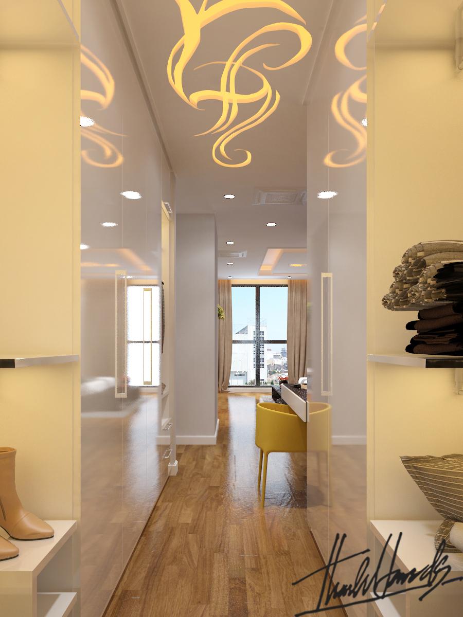thiết kế nội thất chung cư tại Hà Nội Chung Cư Diamond Flower 26 1568274033