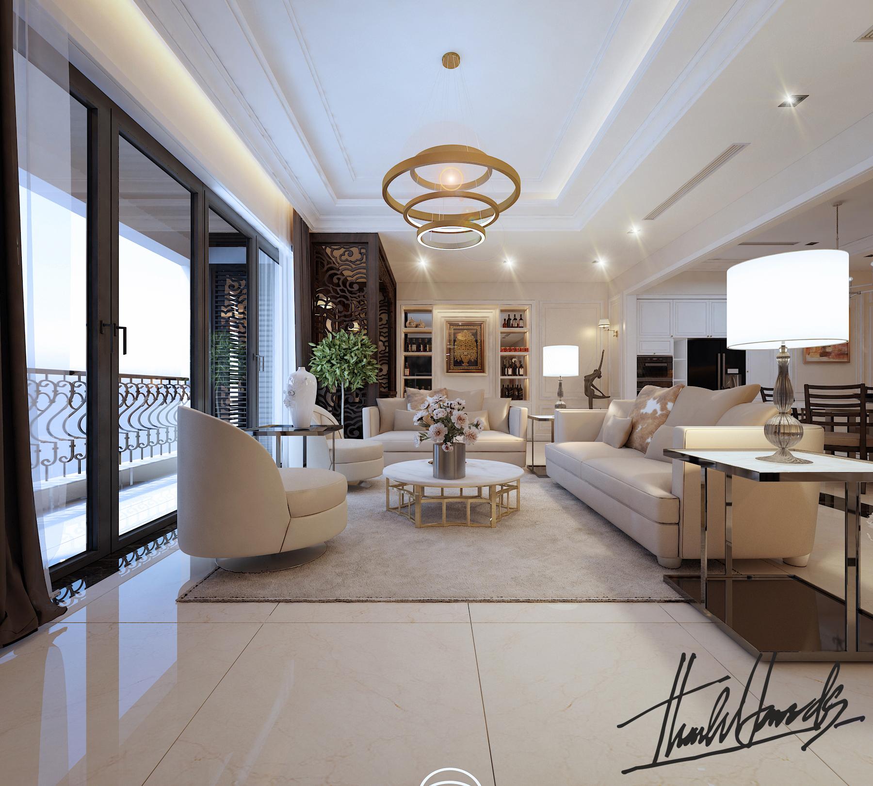 thiết kế nội thất chung cư tại Hà Nội chung cu royacity 3 1568191818
